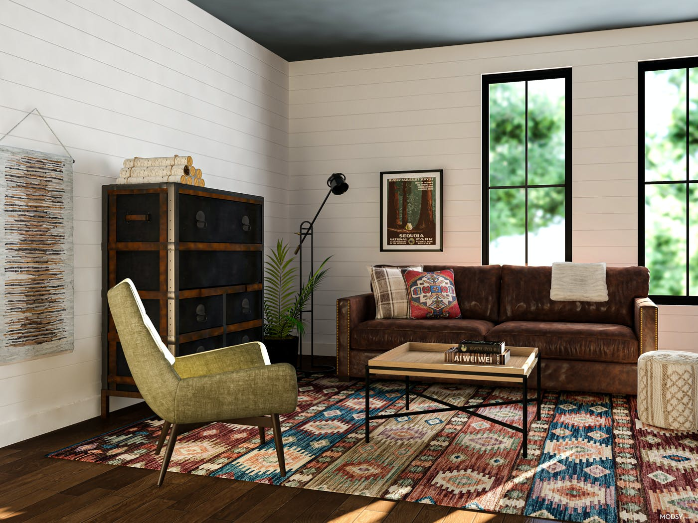 Industrial Meets Cabin Charm