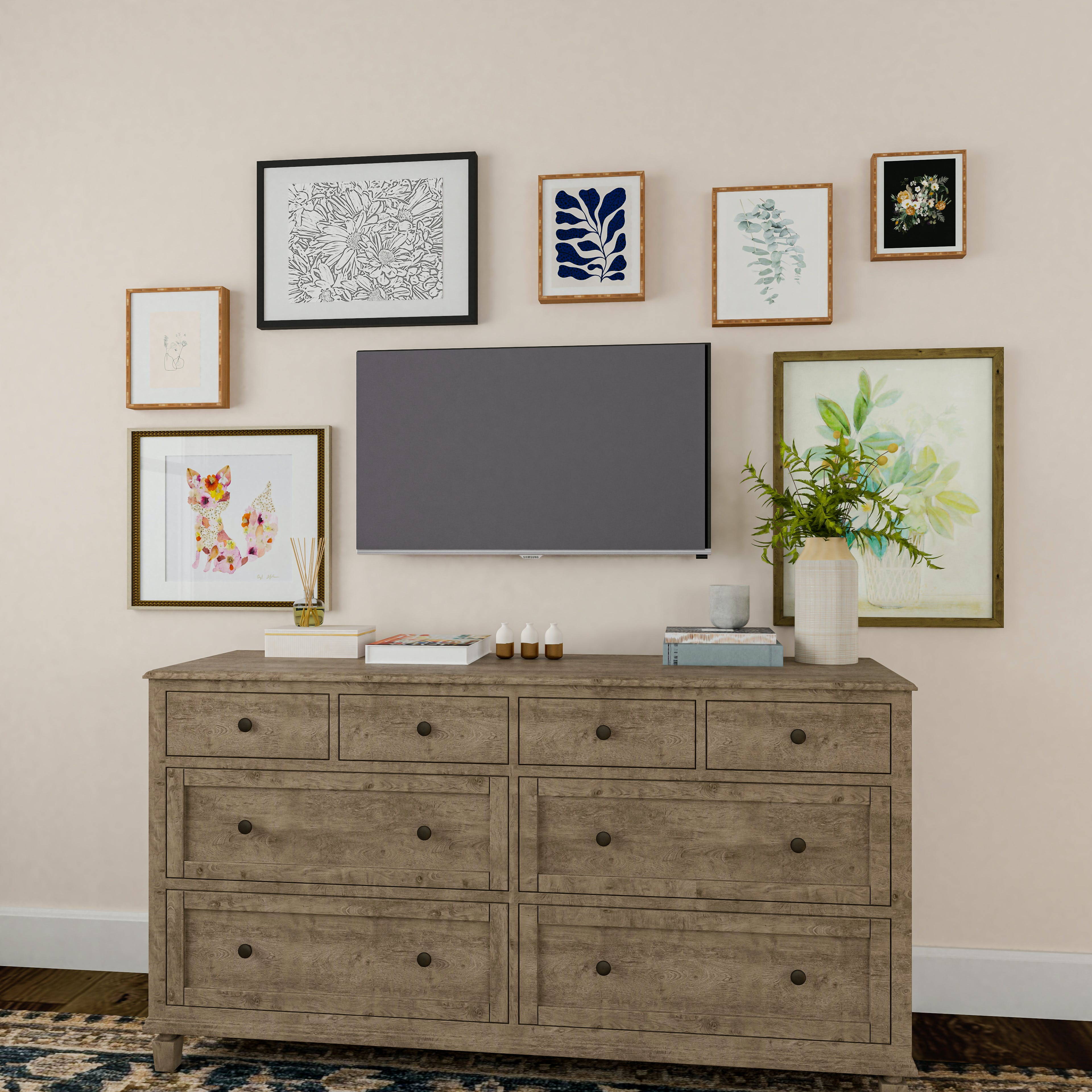 Television Gallery Wall