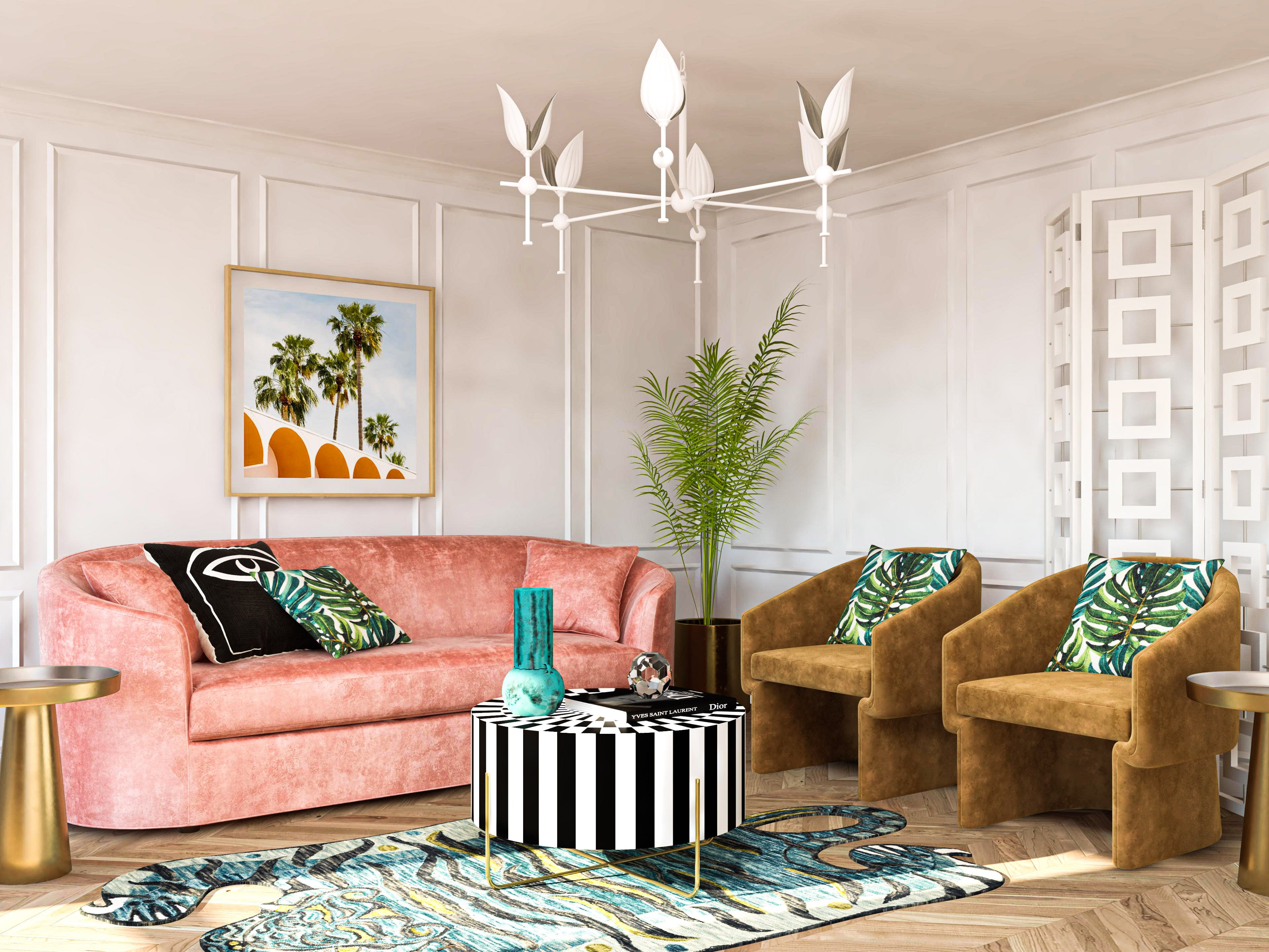 Made In Miami: Art Deco Living Room