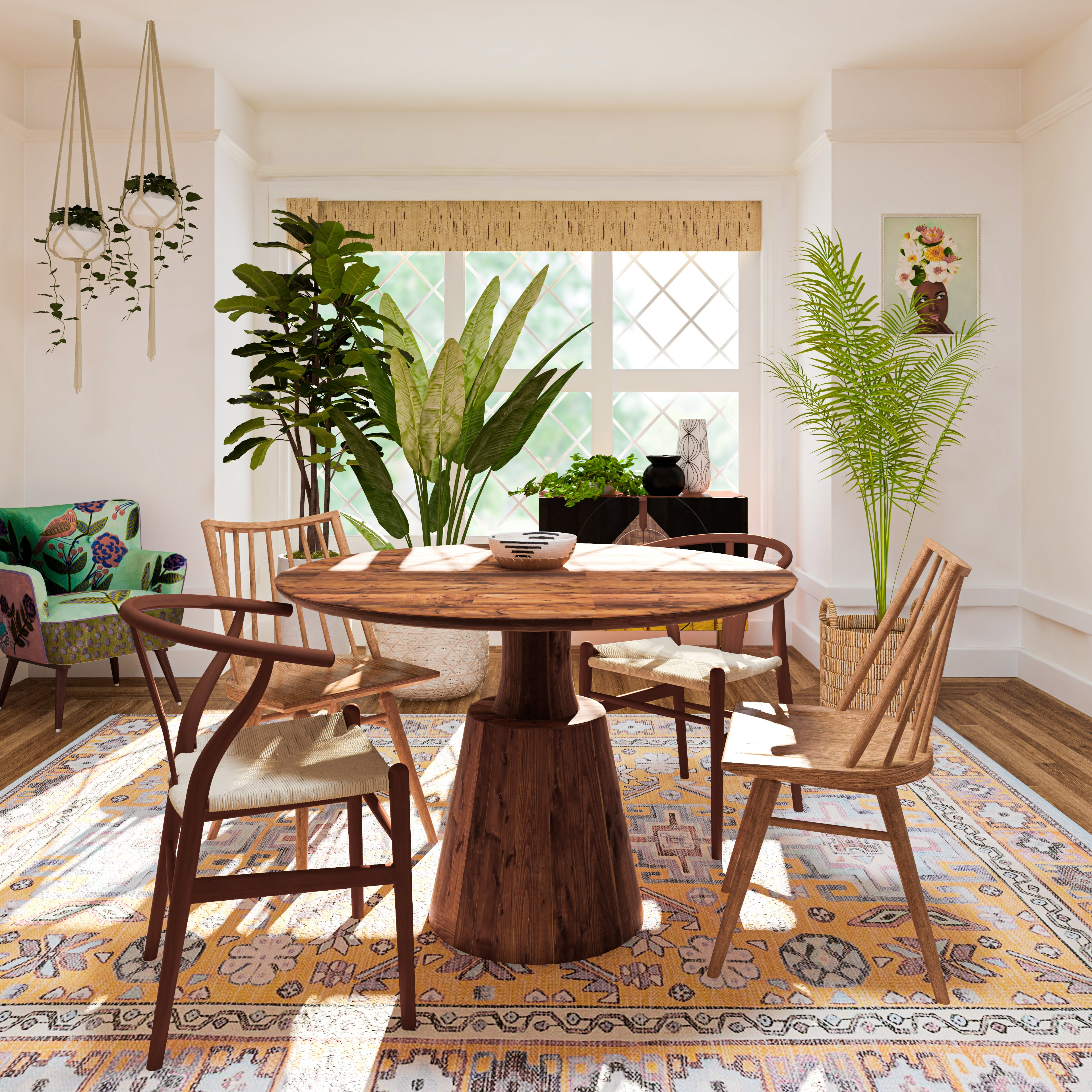 Dining In Boho Style