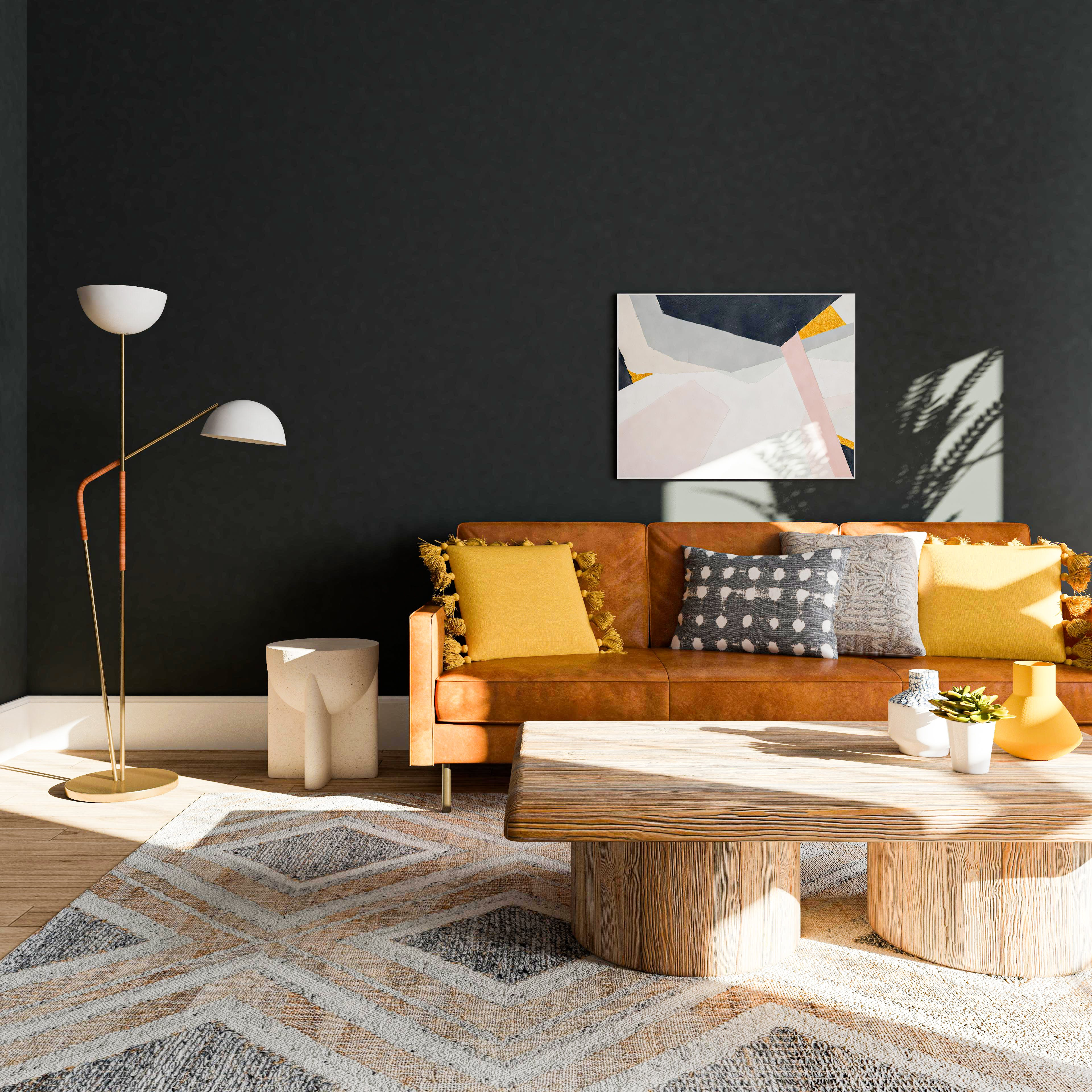 Geometric Patterns + Natural Materials= the Perfect Pairing