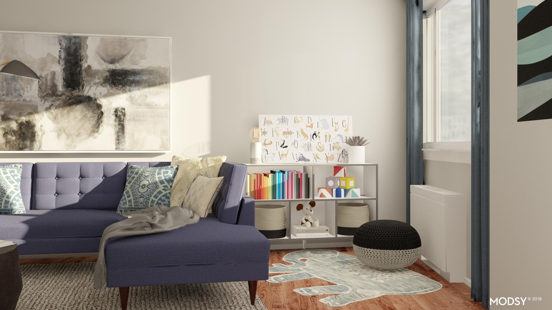 Kid-Approved Play Nook