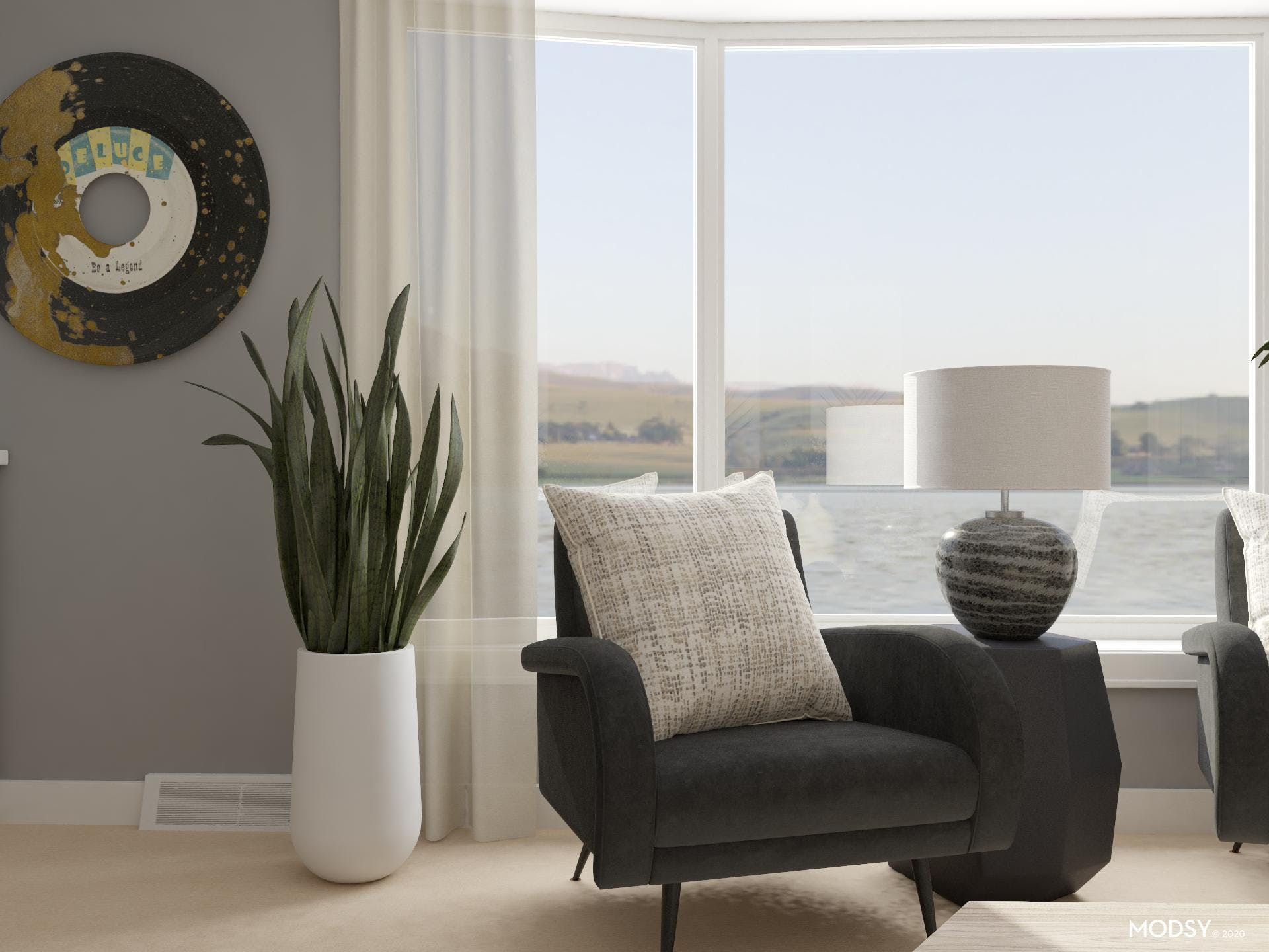 Neutral Tone Eclectic Seating