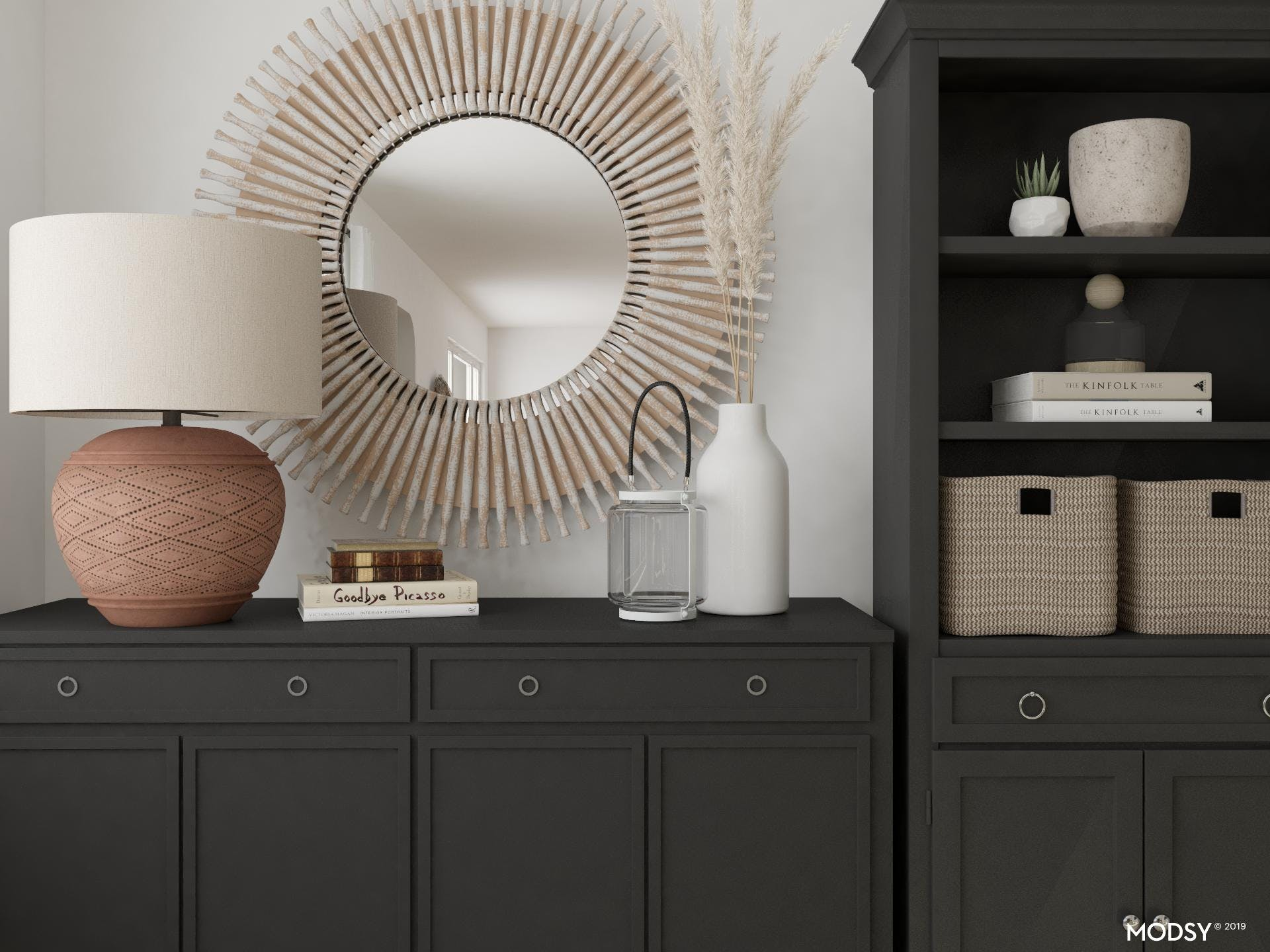 Transitional Office Style
