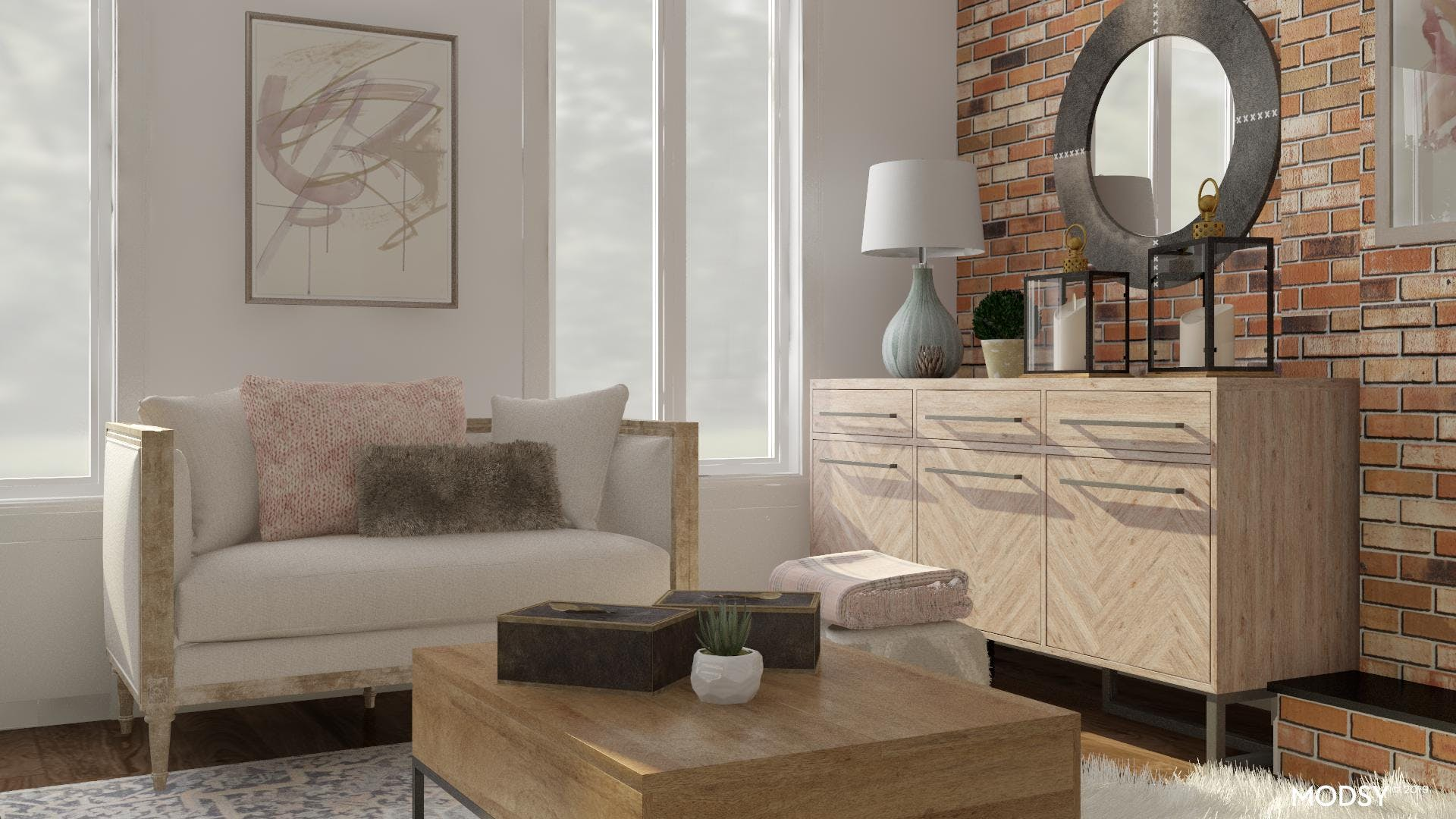 Soft and Light Rustic