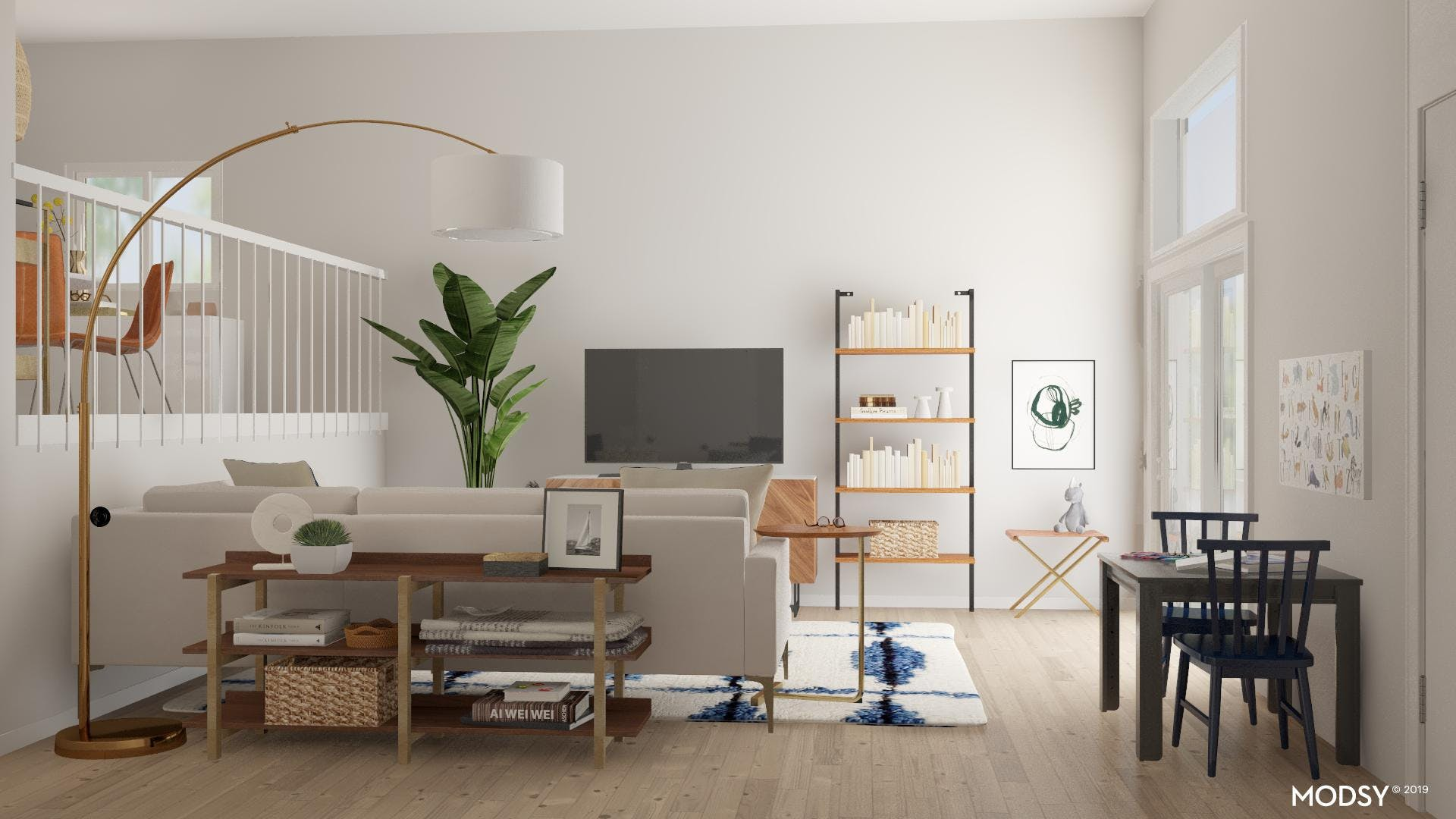 A Kids Space Within The Living Room