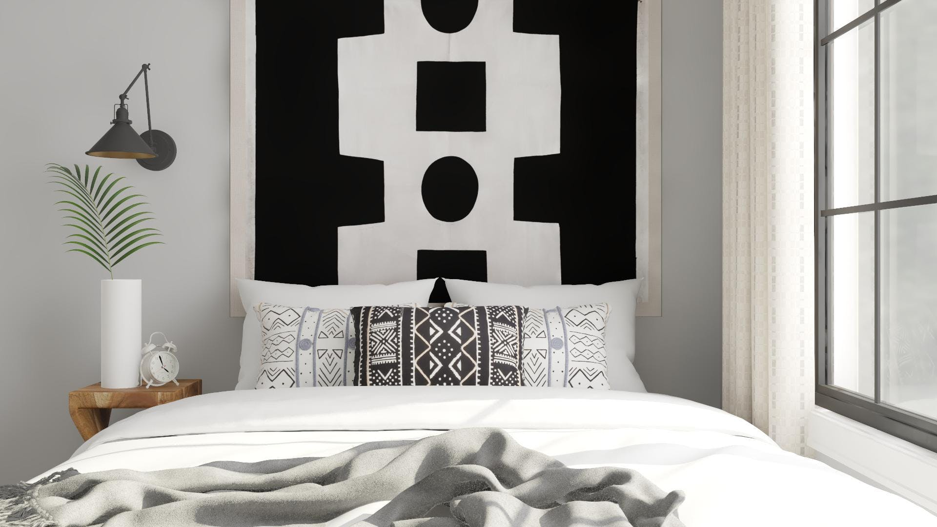 You Can Still Make a Statement in a Small Bedroom