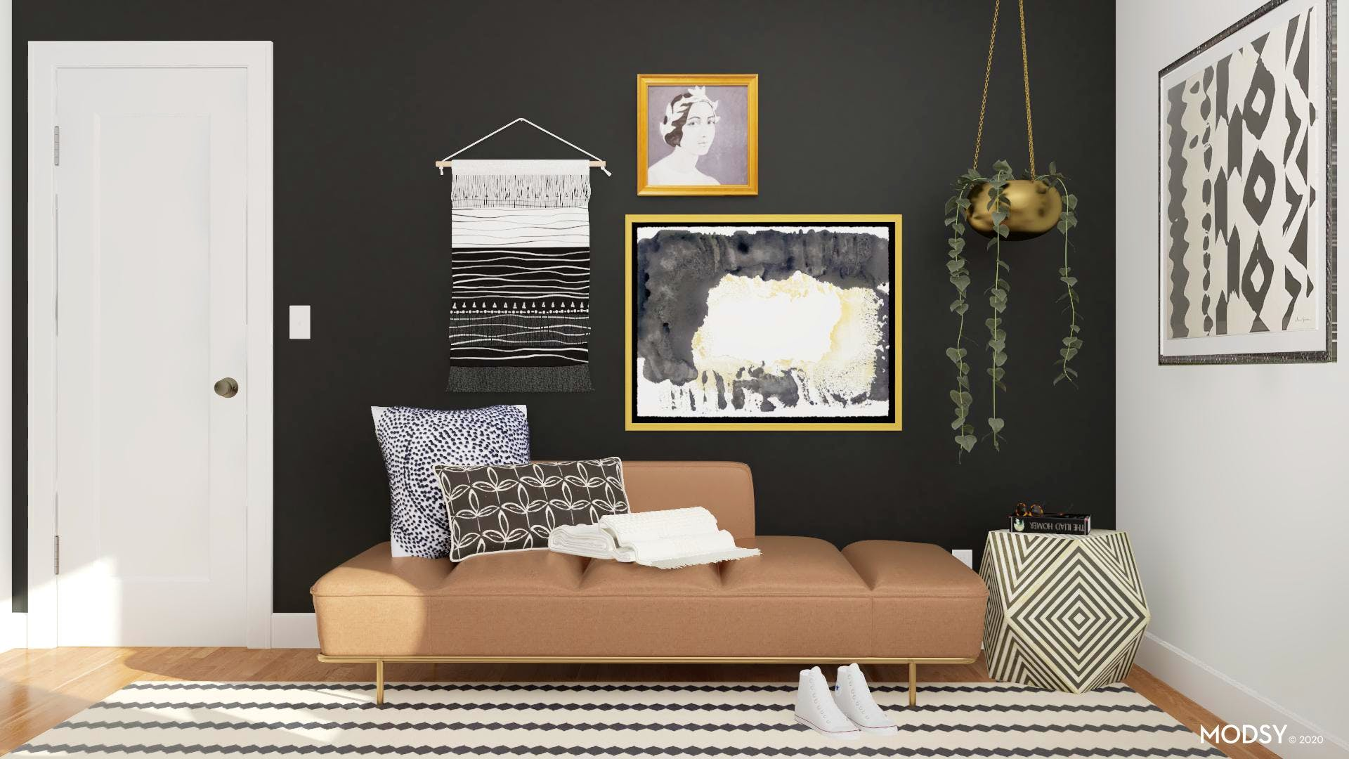 Eclectic and Chic Comfort