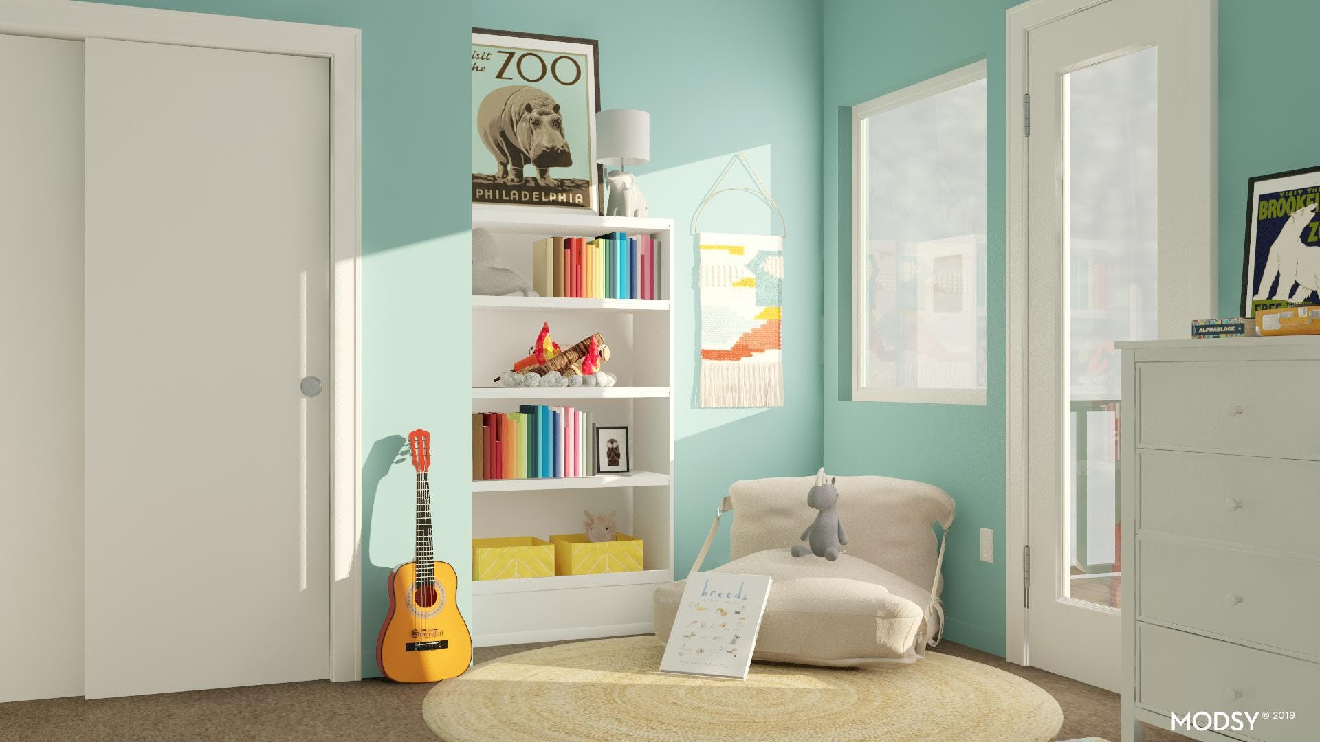 Cozy Up In This Kid-Friendly Reading Nook