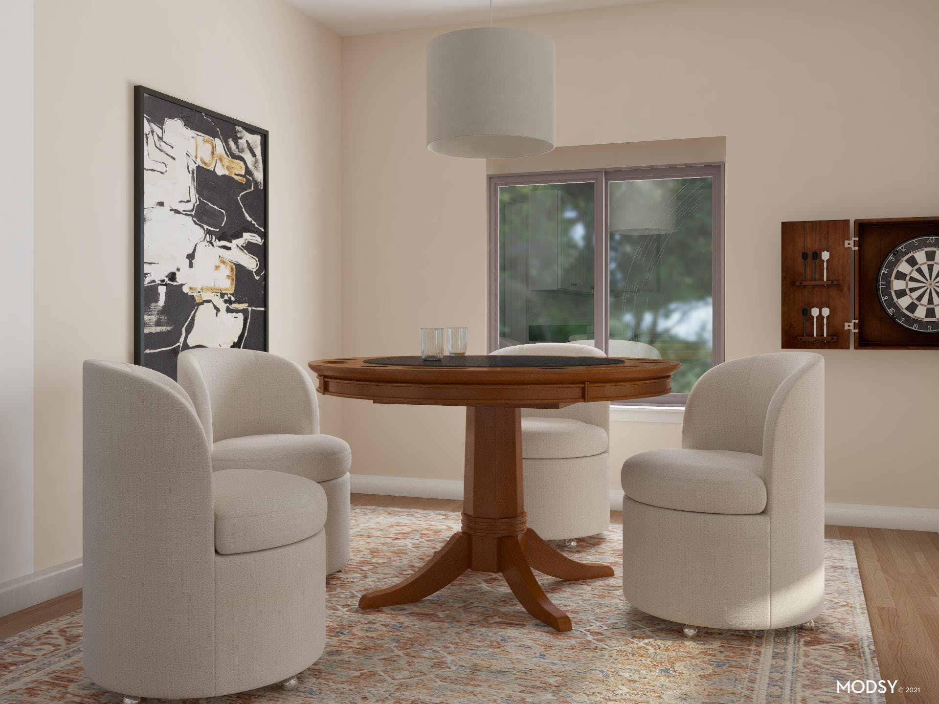 Game Table Styling