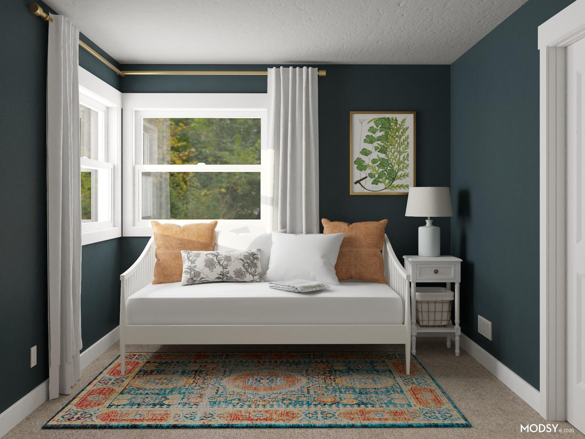 High Contrast Guest Room