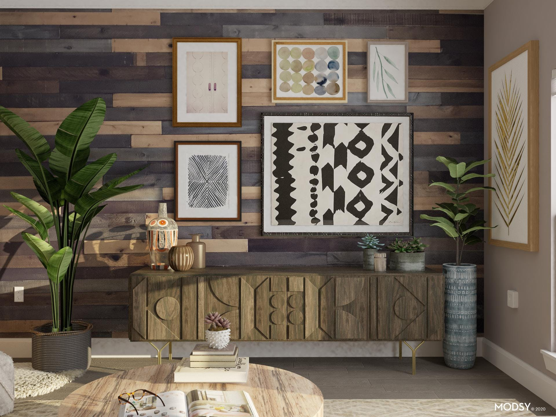 Bold Eclectic Art