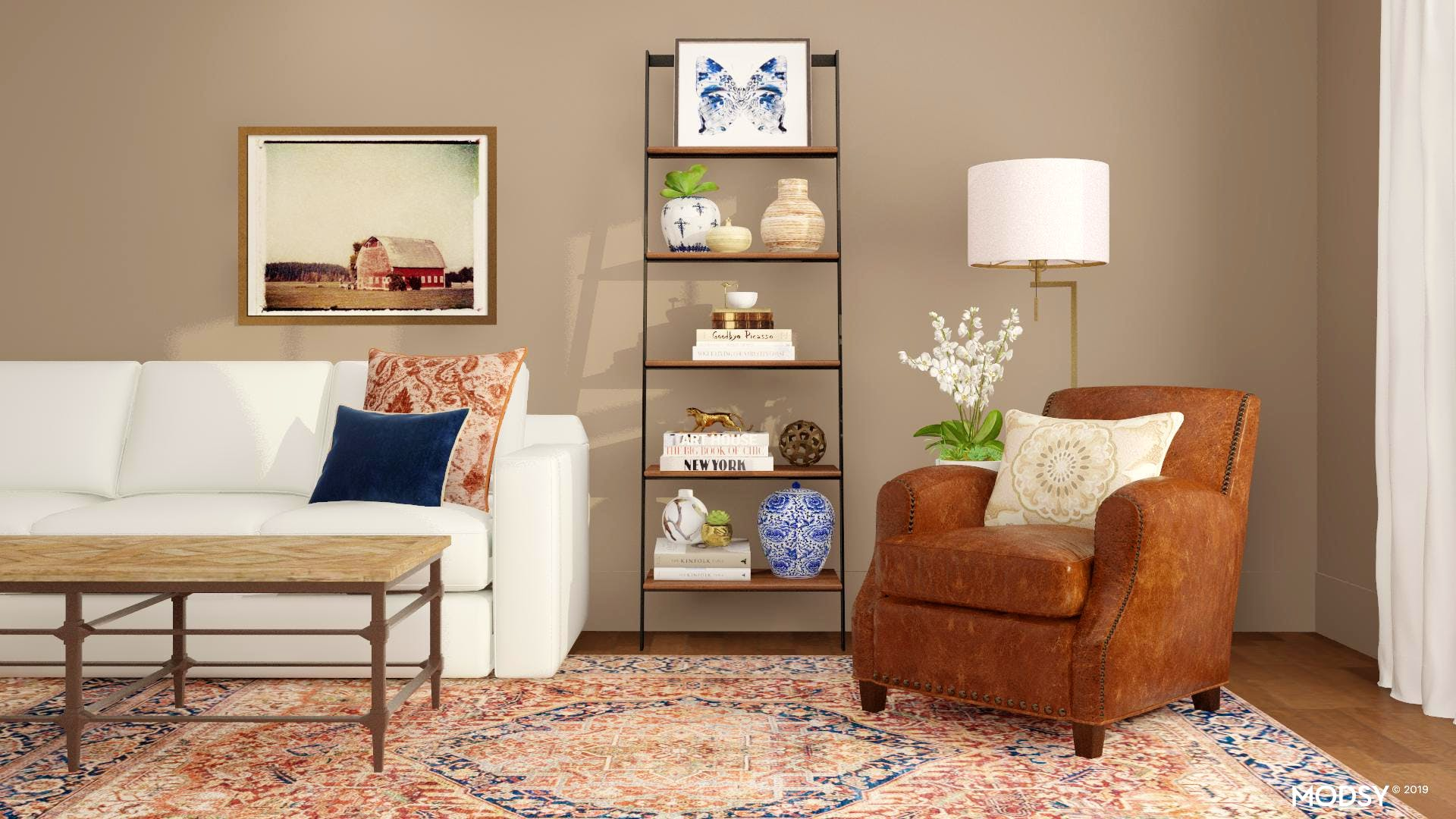 A Comfortable But Refined Living Room