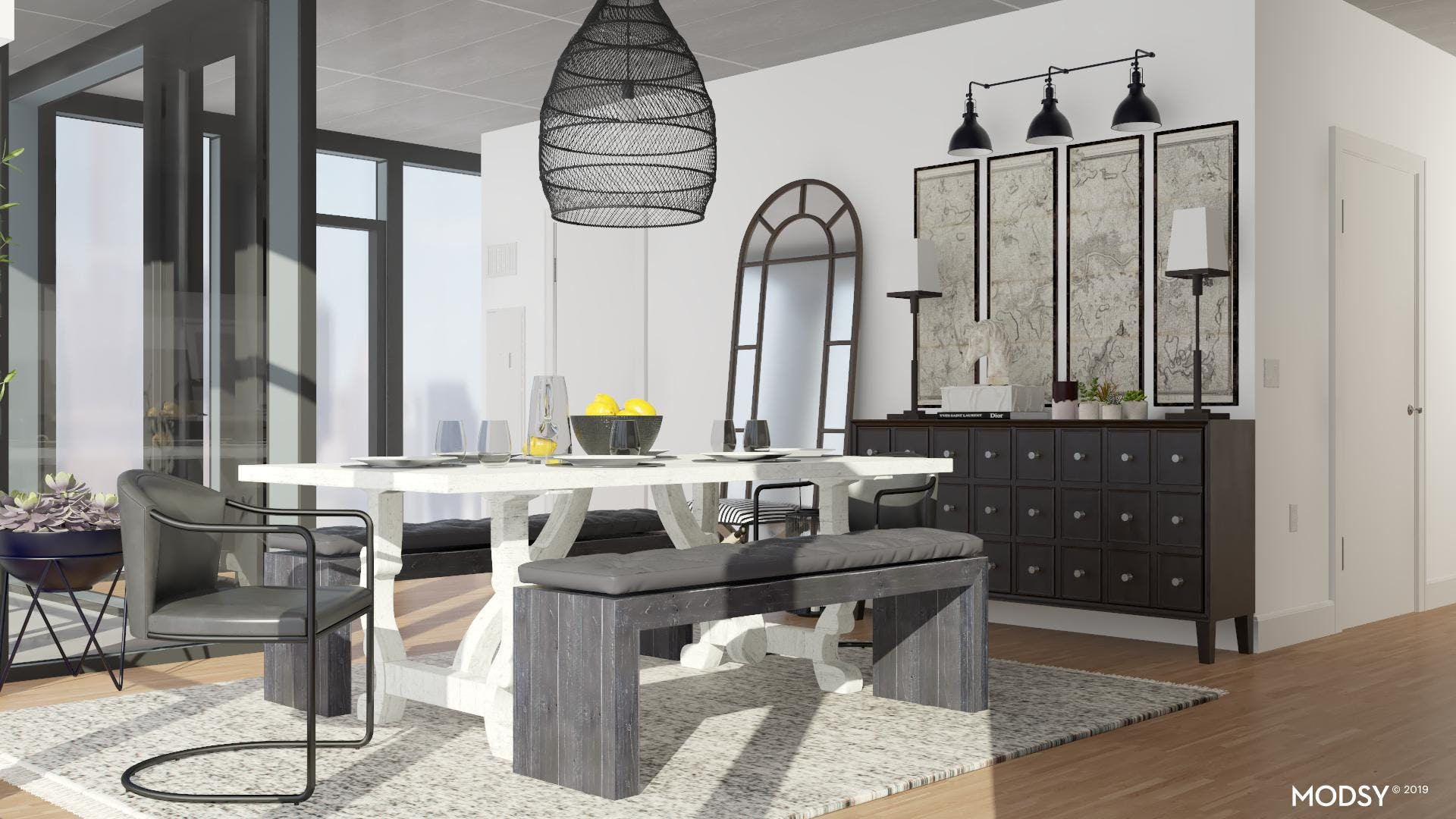 Traditional Chic Dining