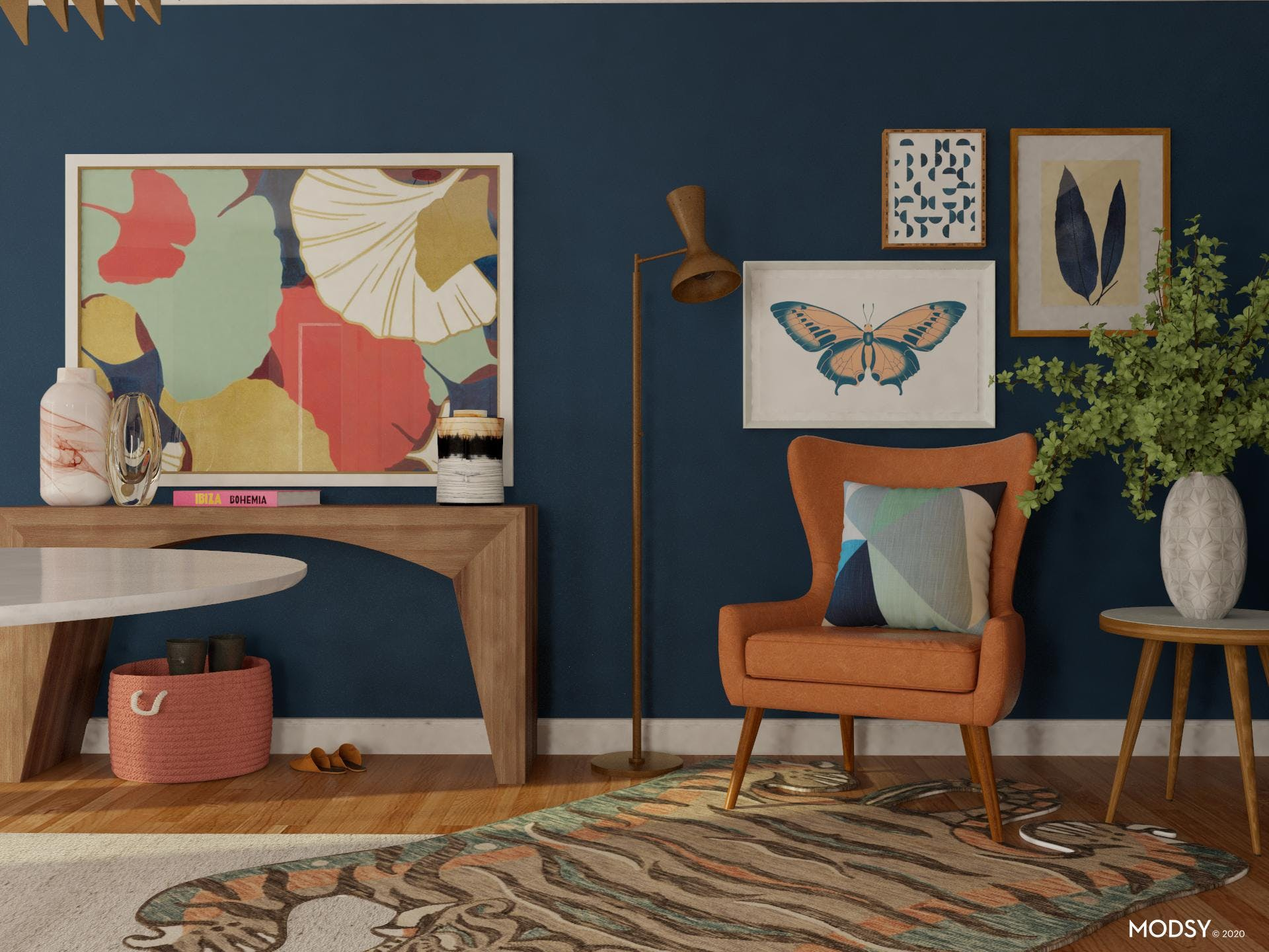 Eclectic And Bold: Entry Design