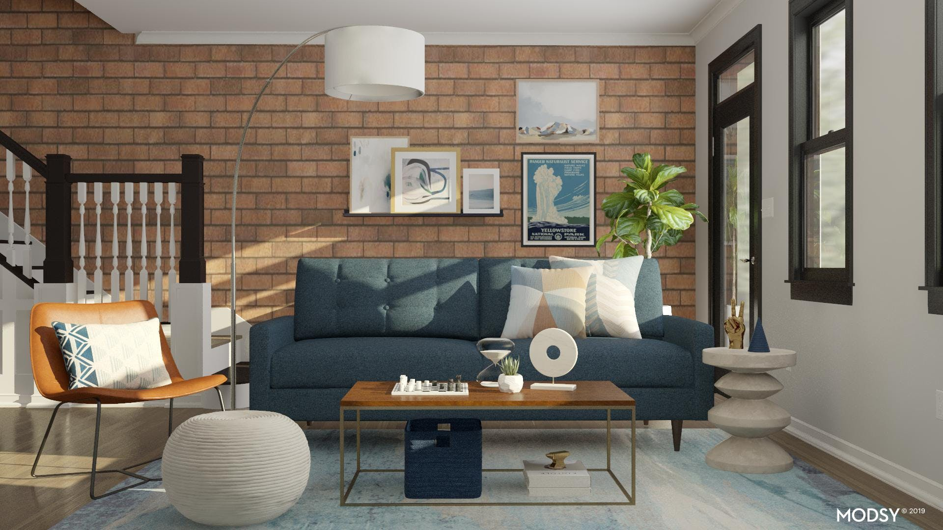Floating A Sofa To Maximize Your Space