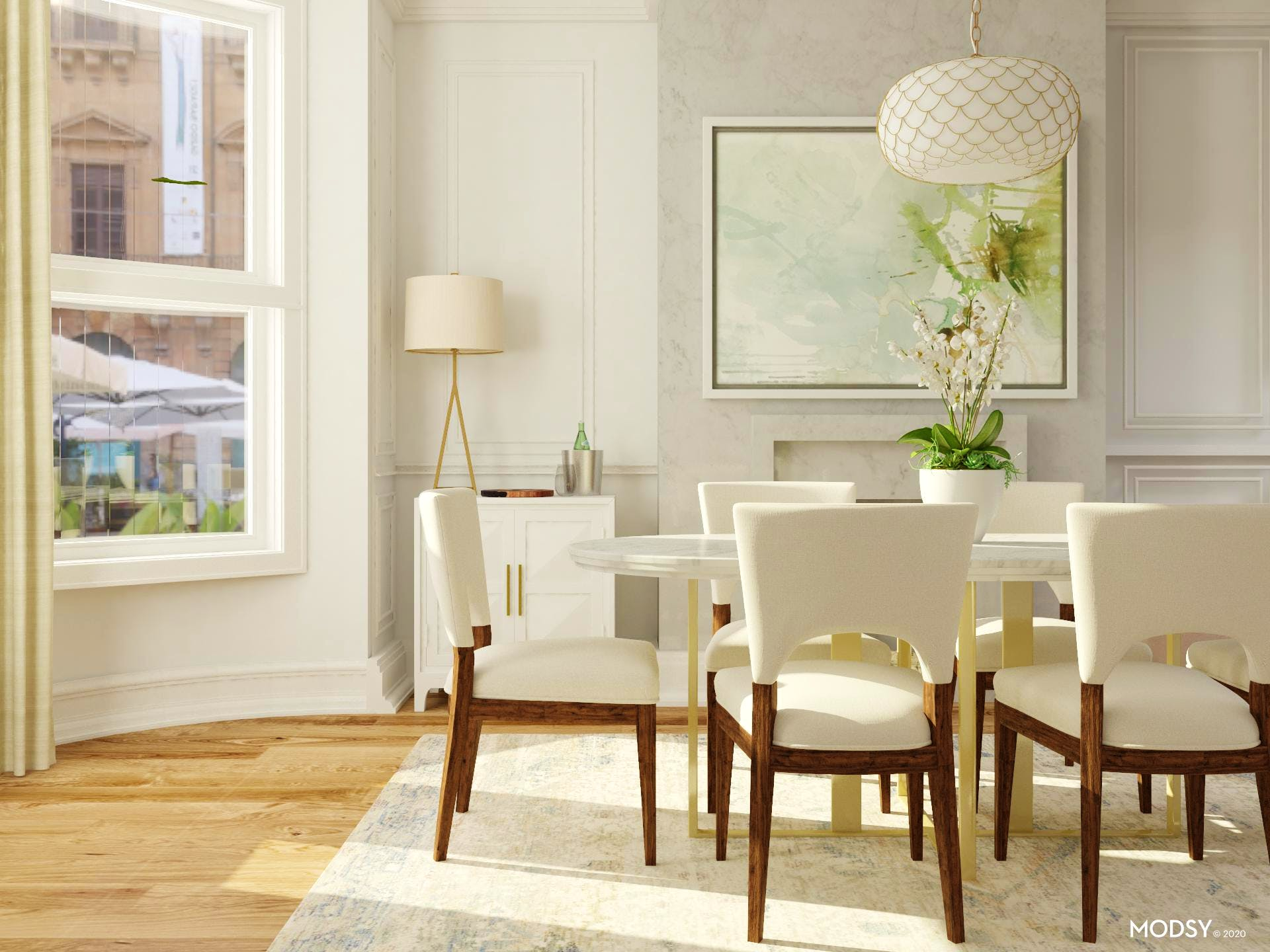 A Breath of Fresh Air Formal Dining Room