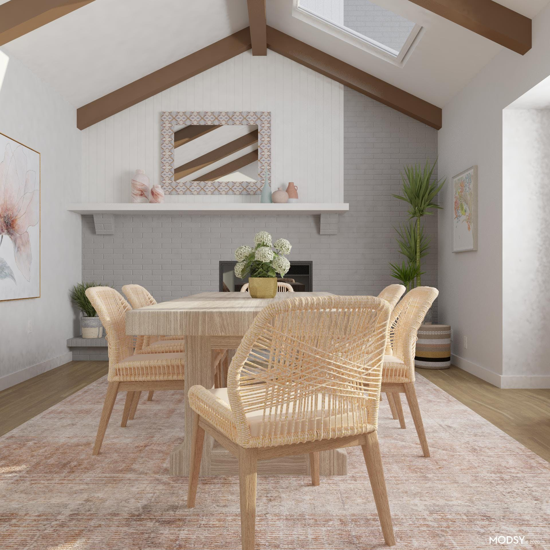 Stunning Rope Weave Dining Chairs