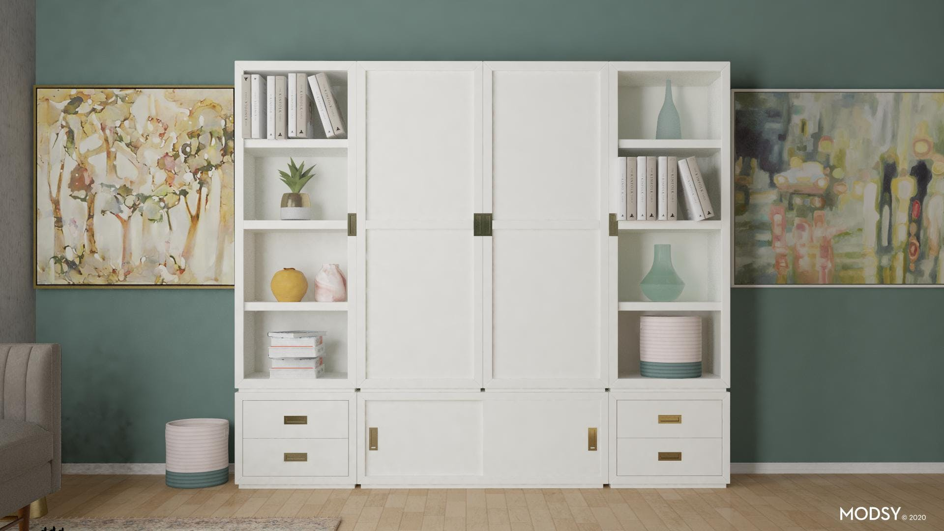 Home Office Storage Solution