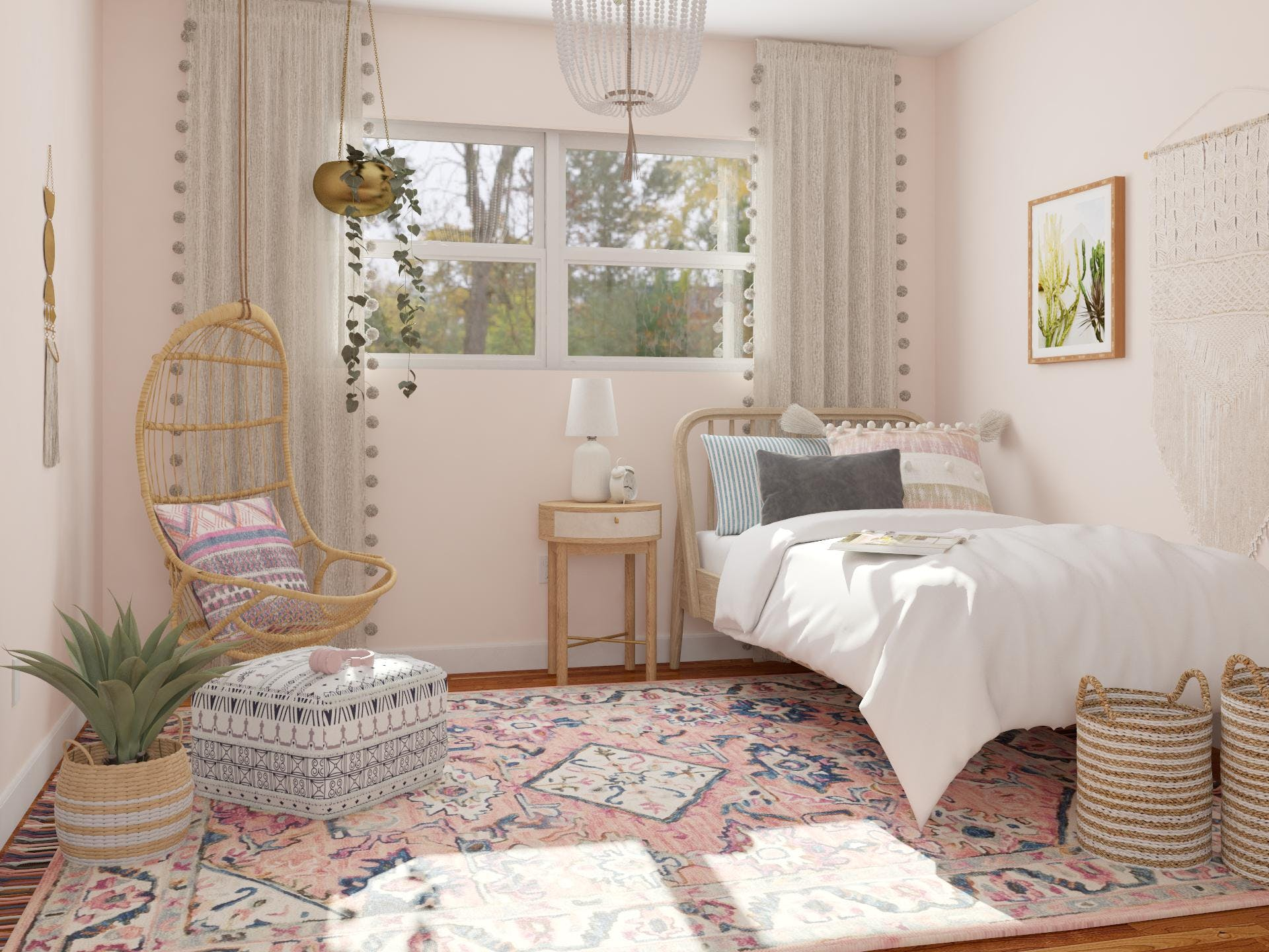 Peachy Keen Bedroom