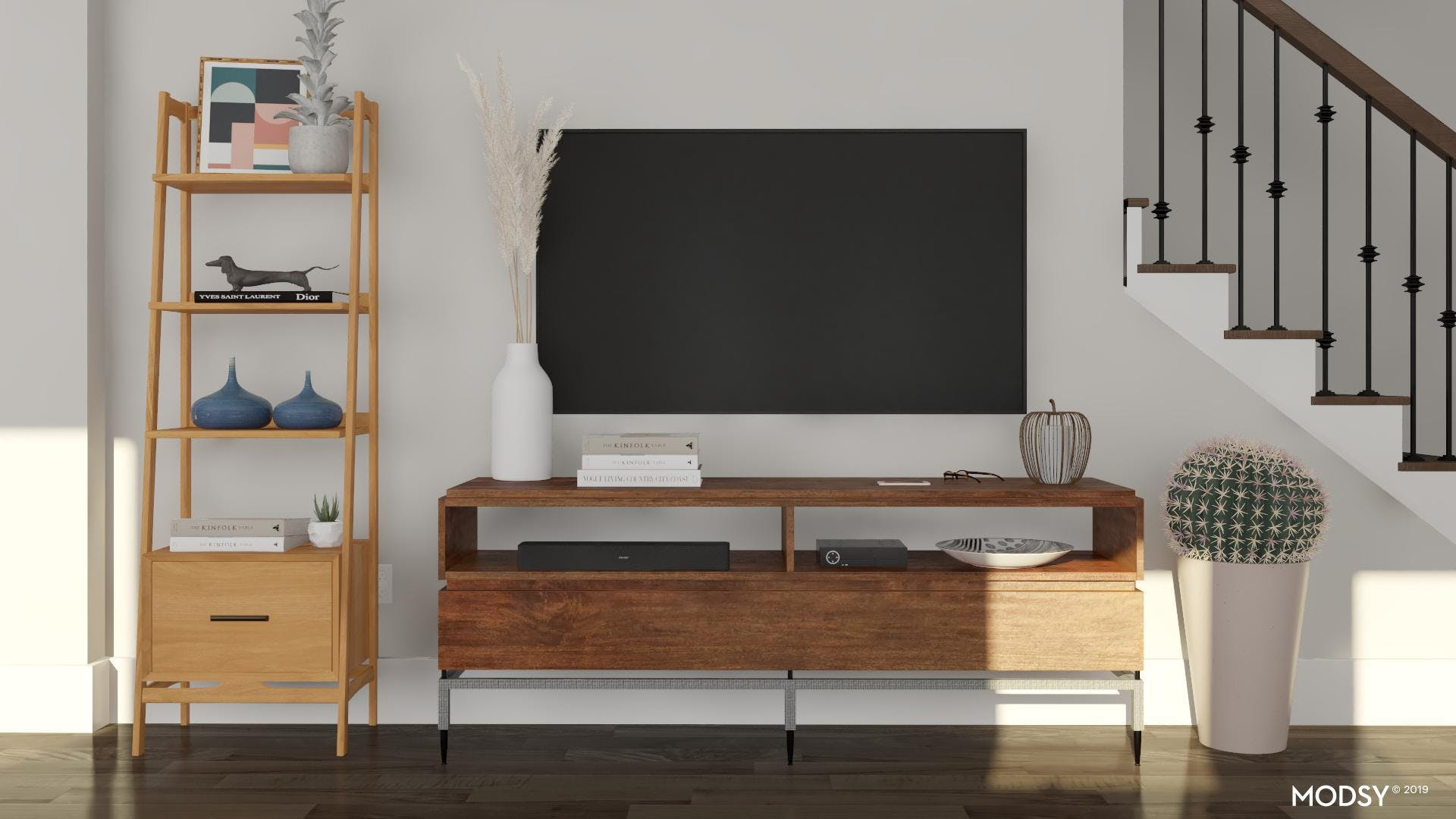 Add A Unique Touch To Your TV Wall