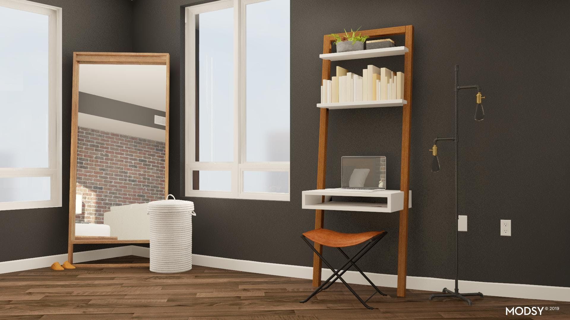 Climb The Ladder In Your Home Office