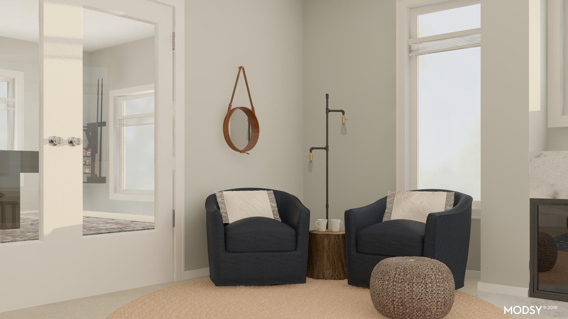 Seating Solution: Swivel Armchairs