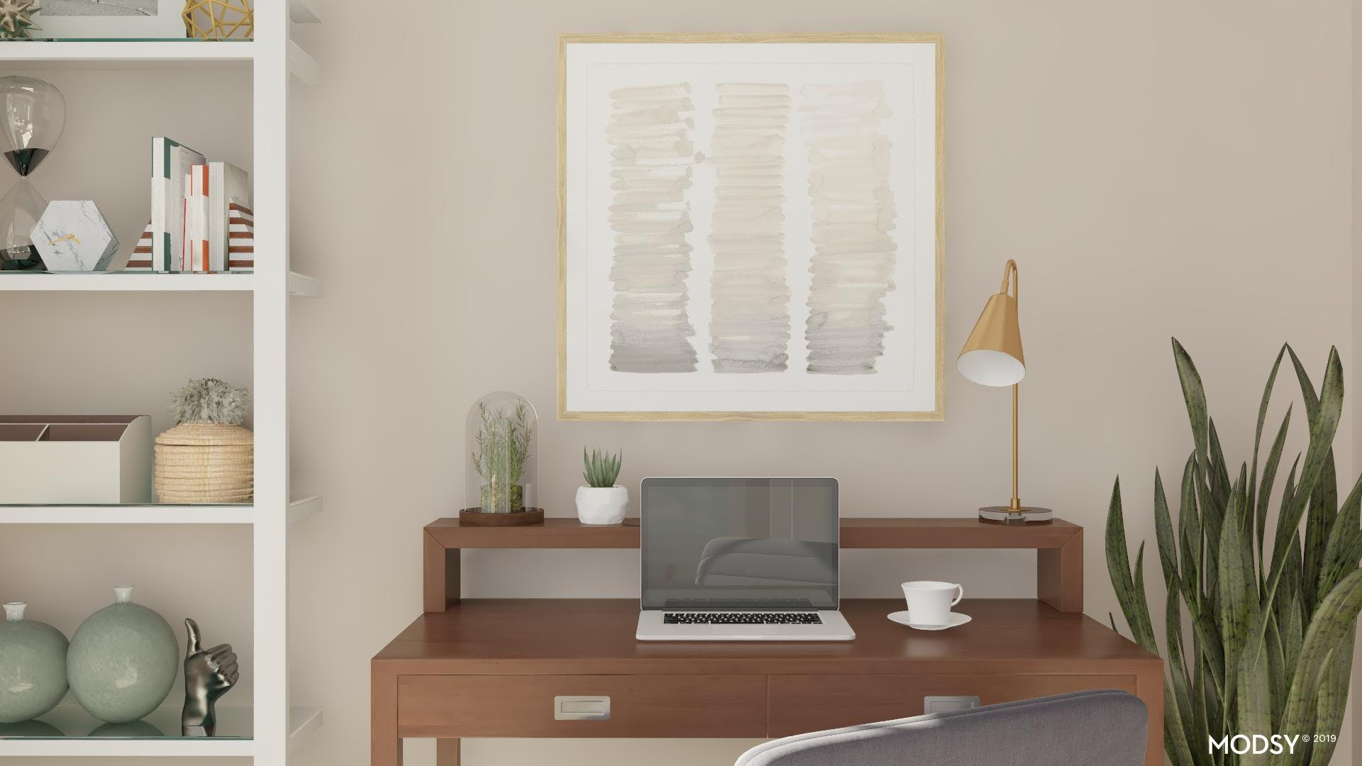 Clutter-Free Home Office