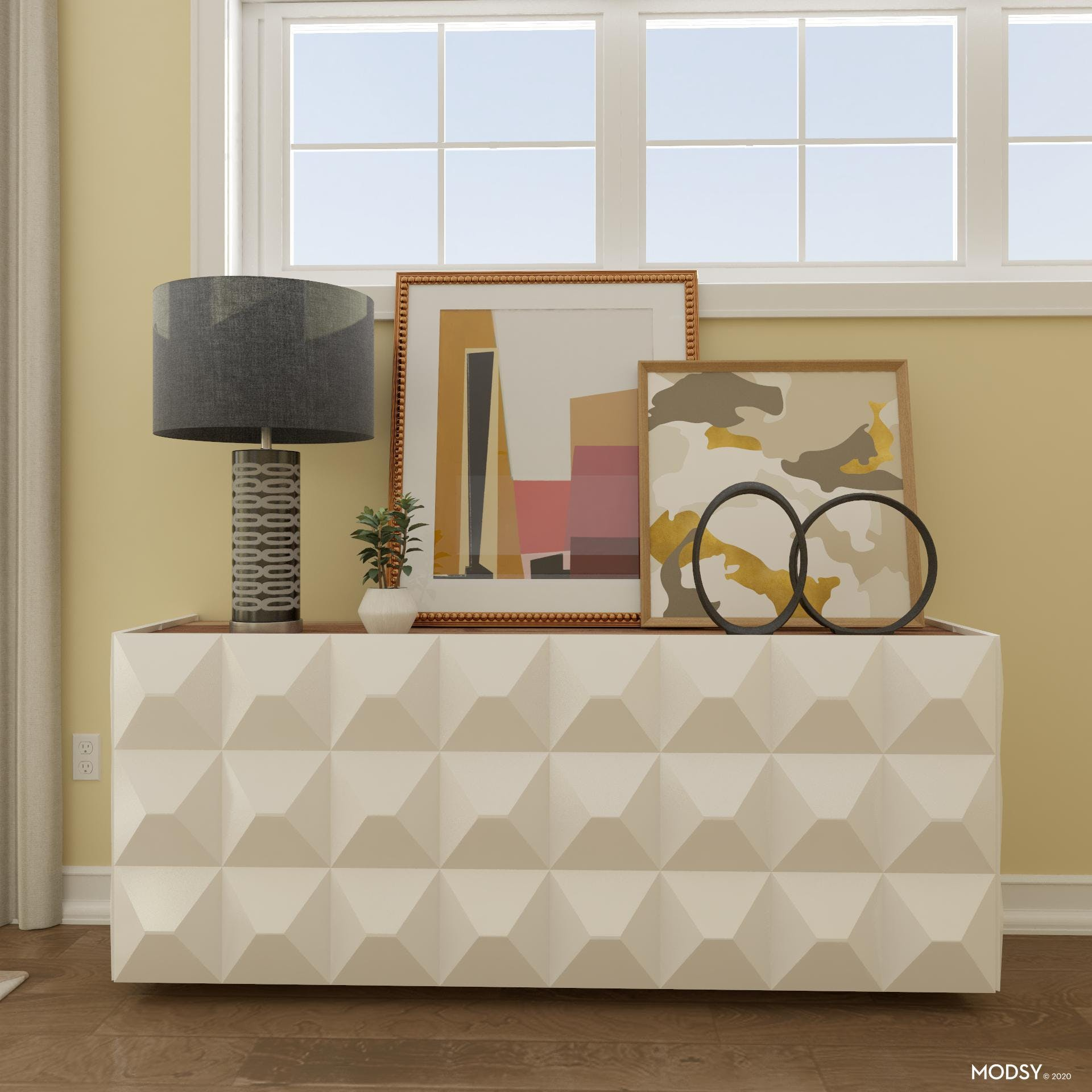 Impact On A Sideboard