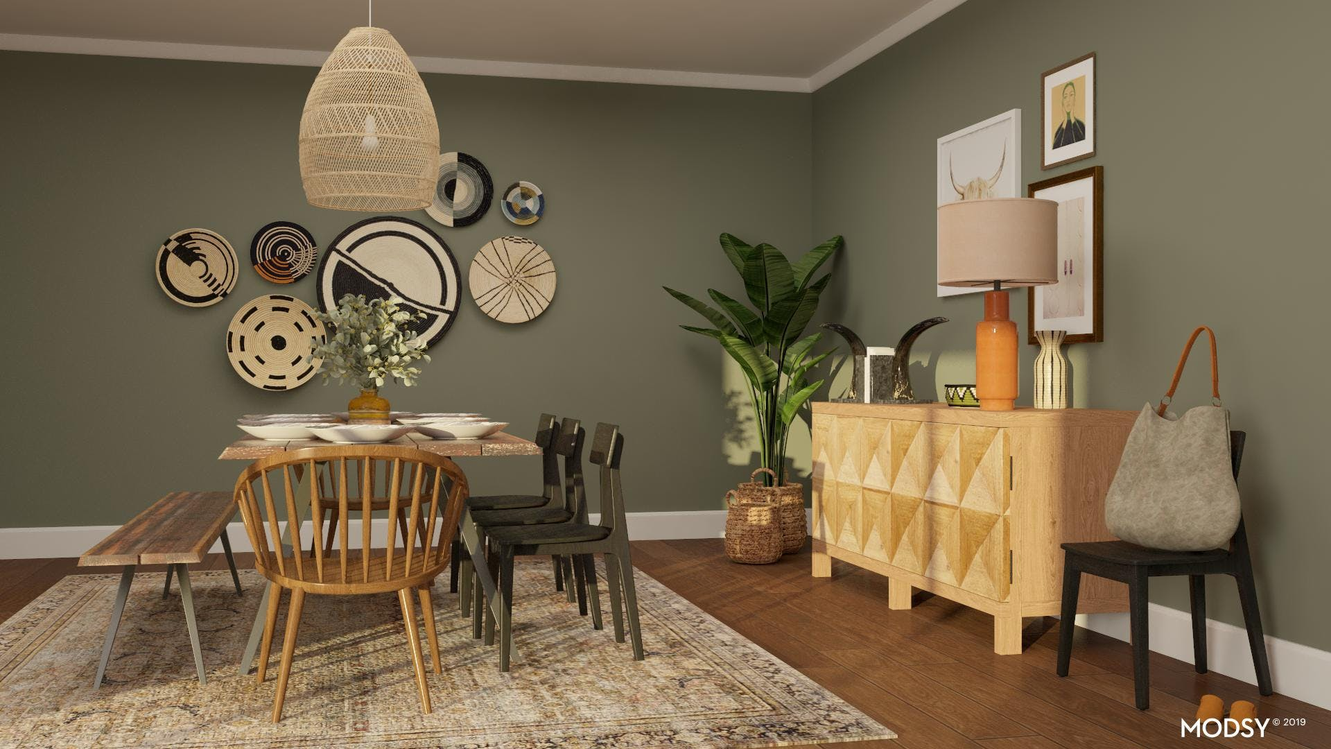 Naturally Eclectic: Dining Room