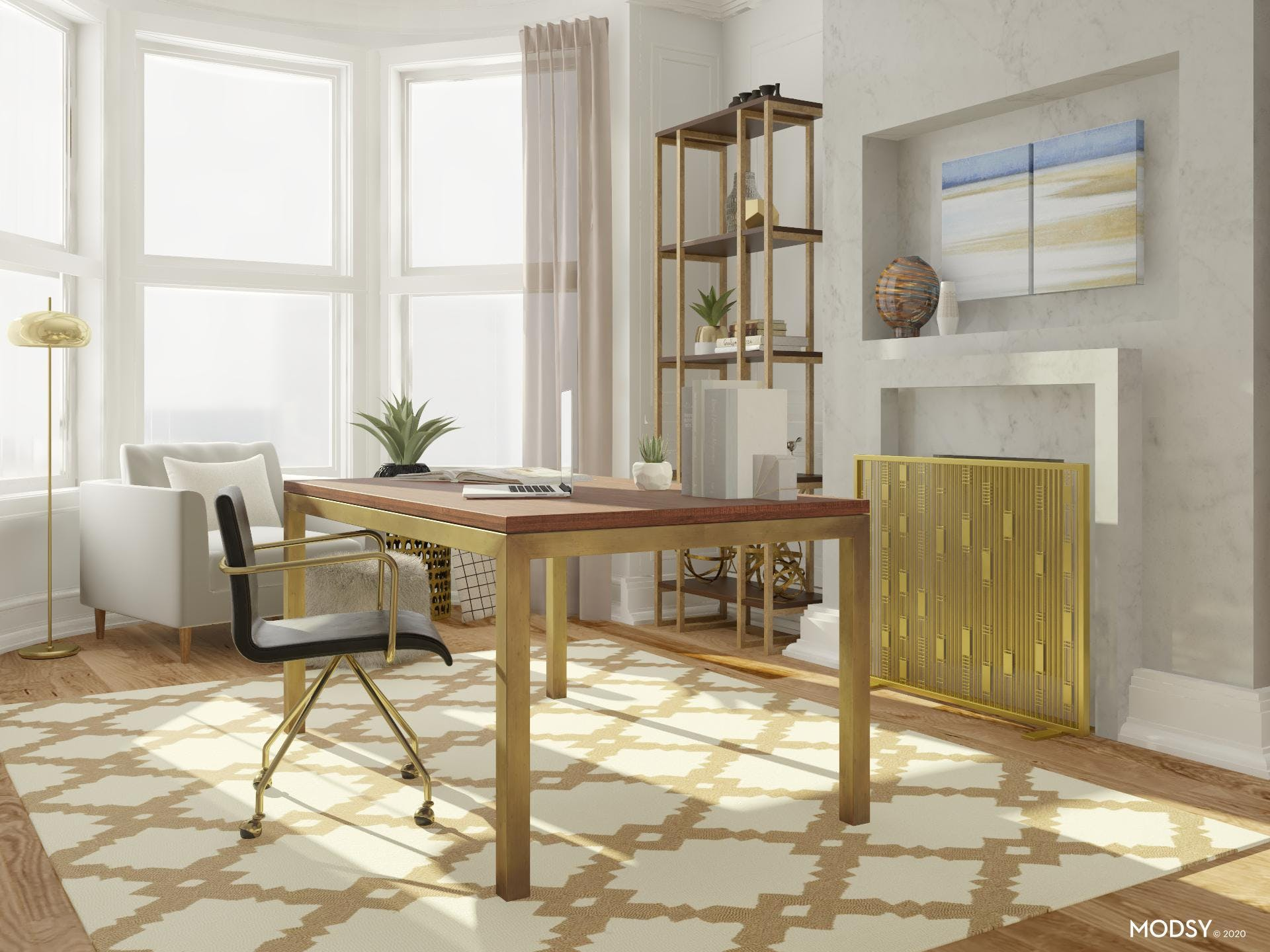Chic and Glam Office