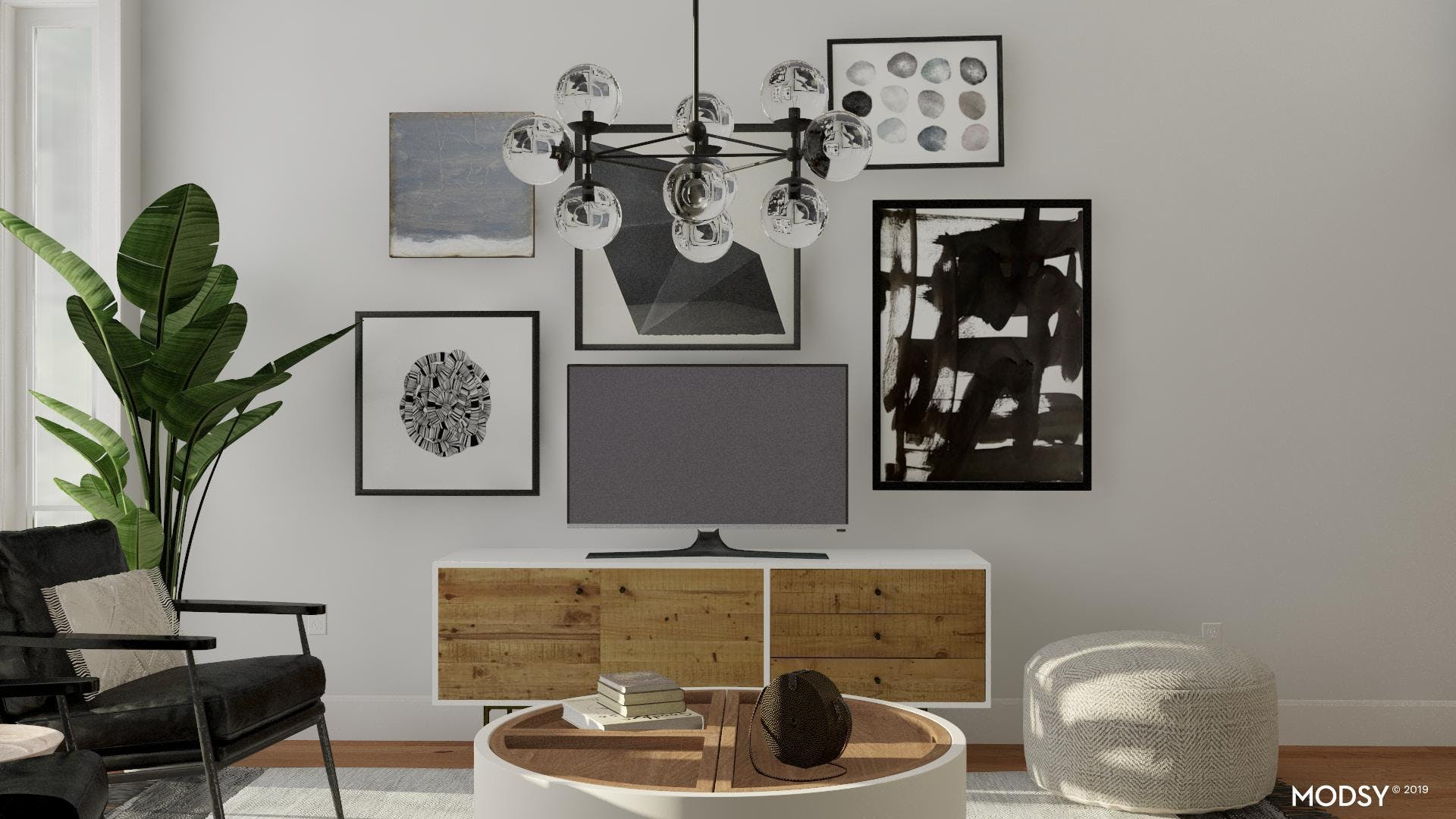 Gallery Style Television Viewing