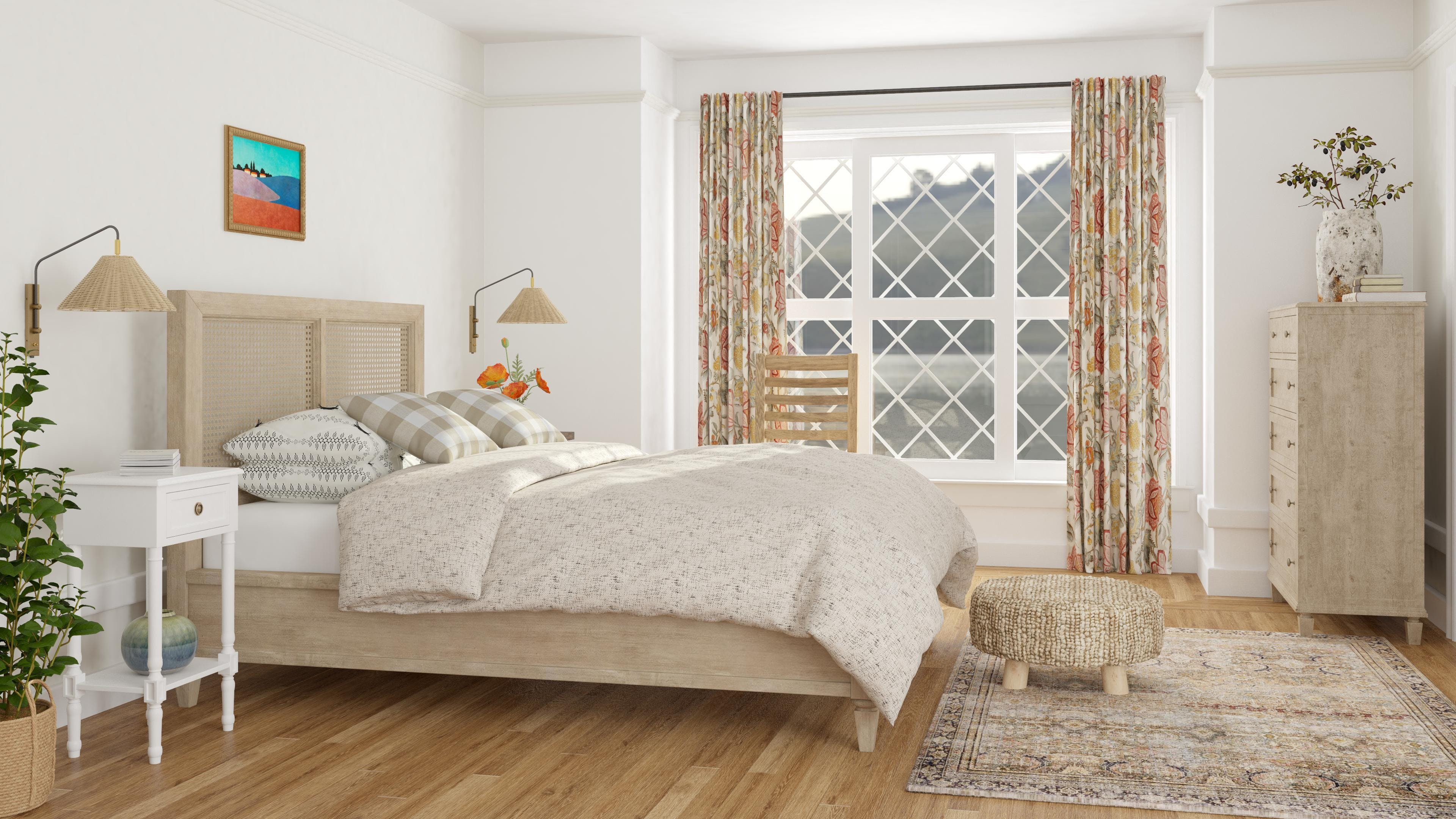 A Charming Cottage Bedroom