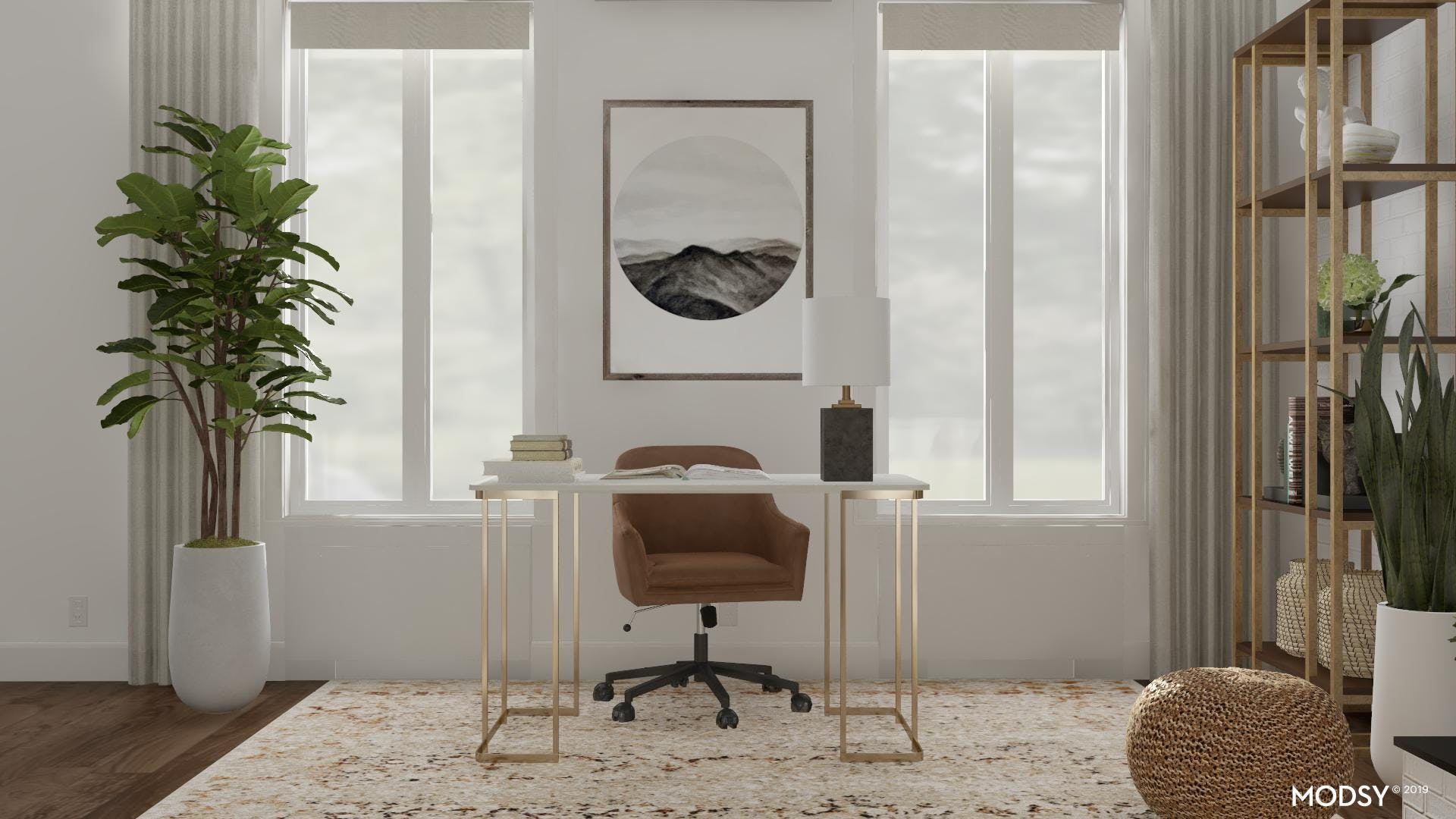 Framing The Perfect Office