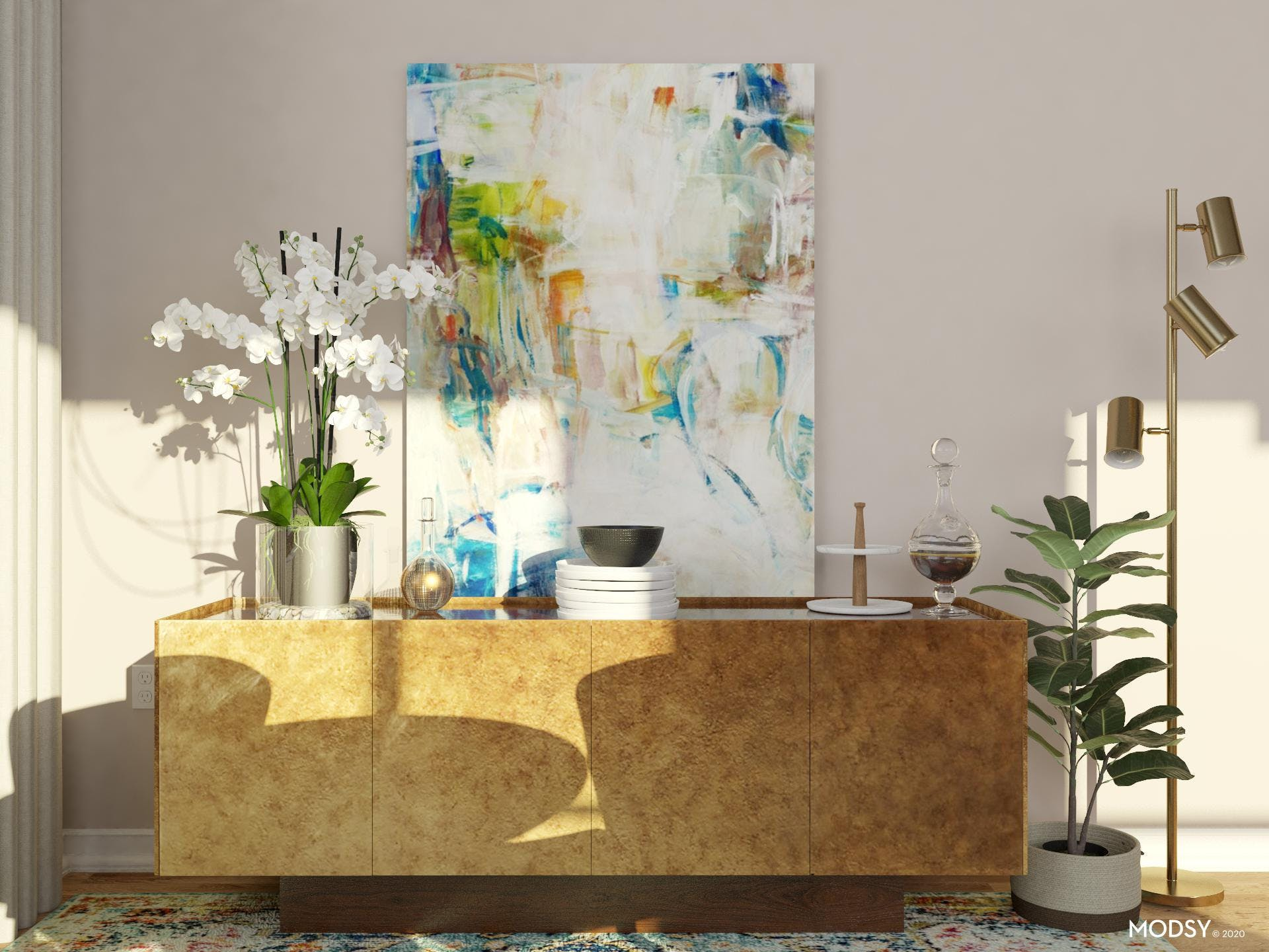 Make the Most of Credenza Styling