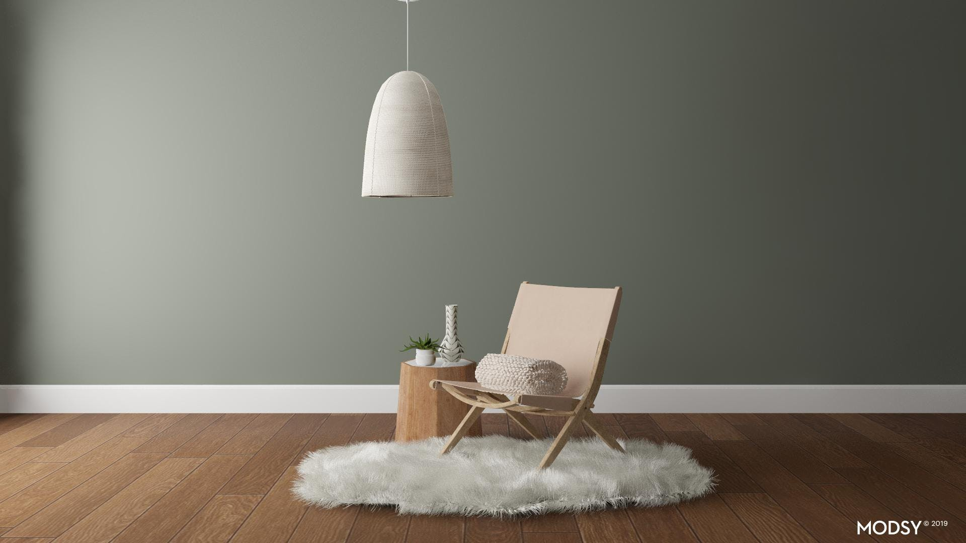 Simple yet Cozy Seating Nook