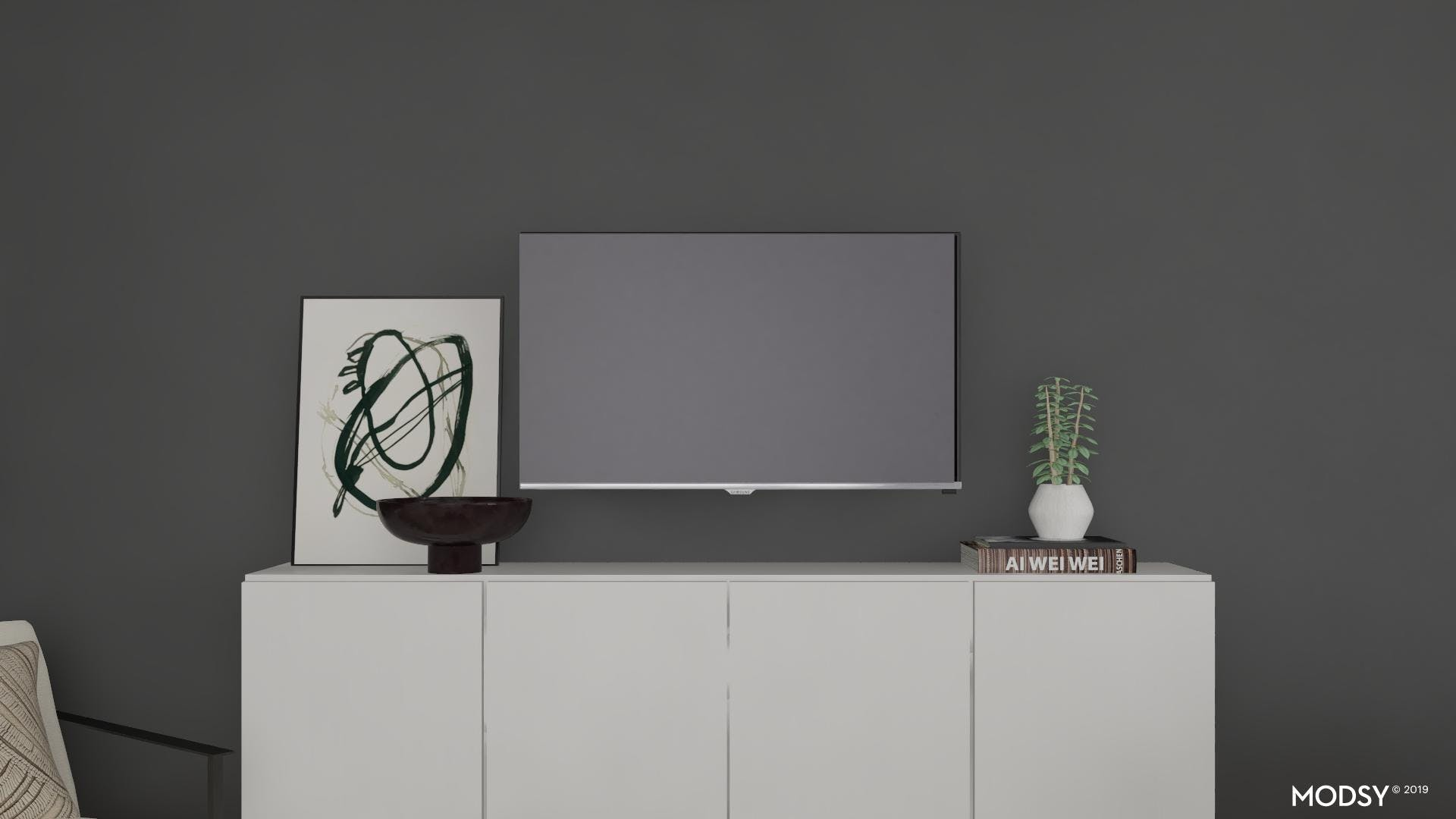 Sleek Console Table Styling