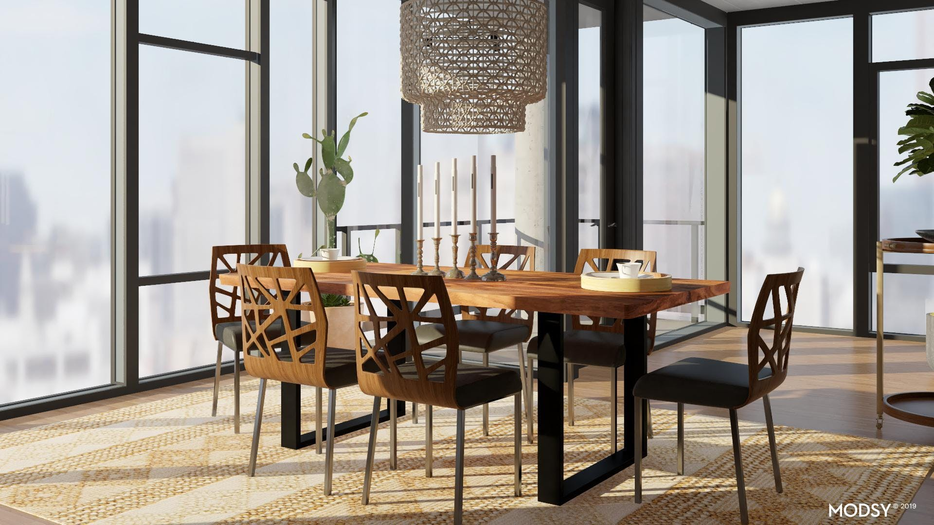 Dining In Eclectic Elegance