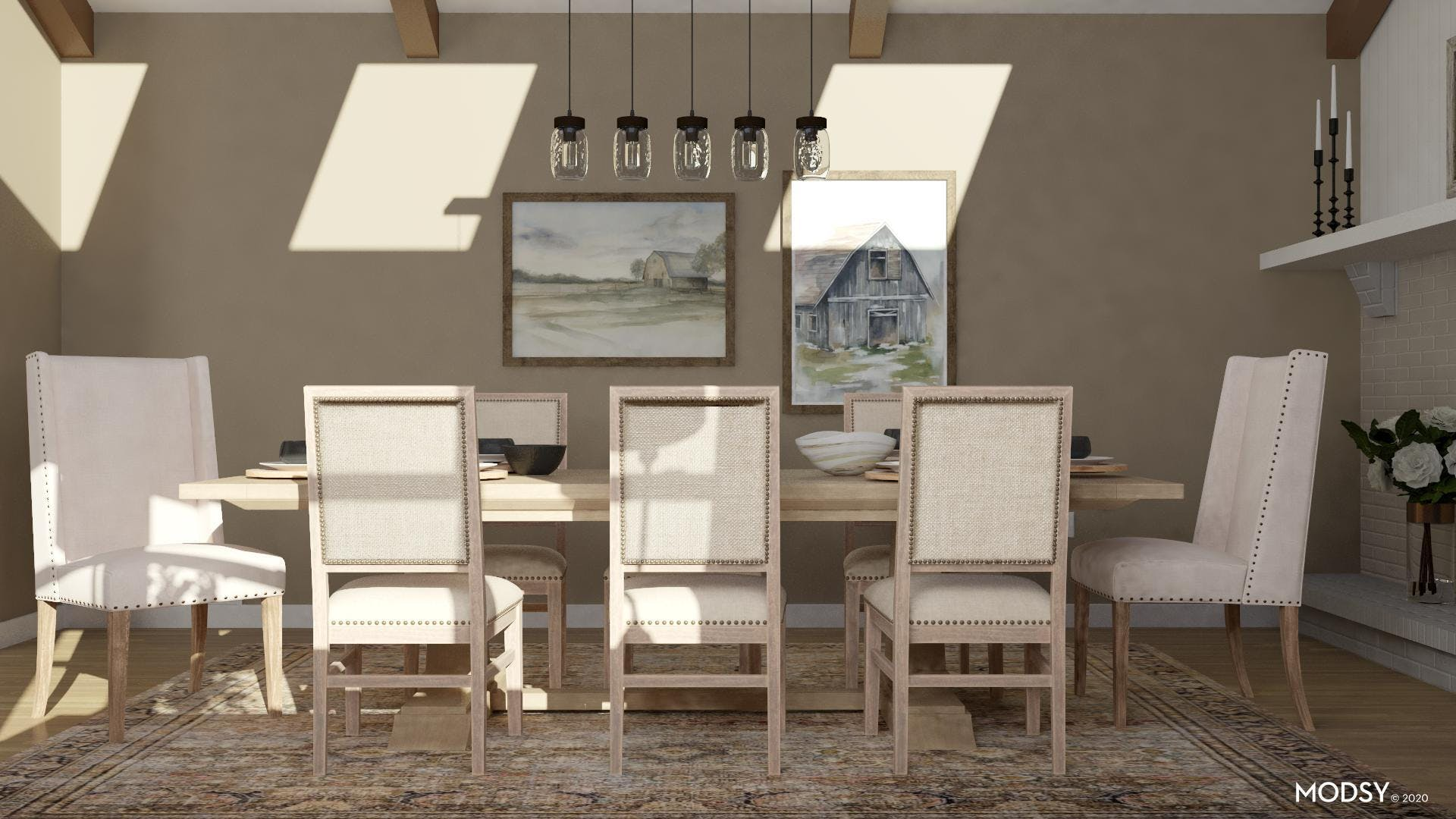 Farm to Table: Rustic Dining