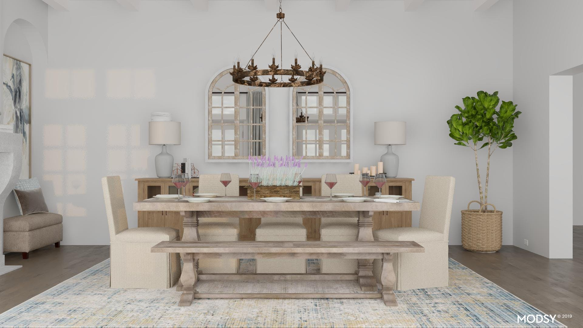 Dreamy Rustic Dining Room