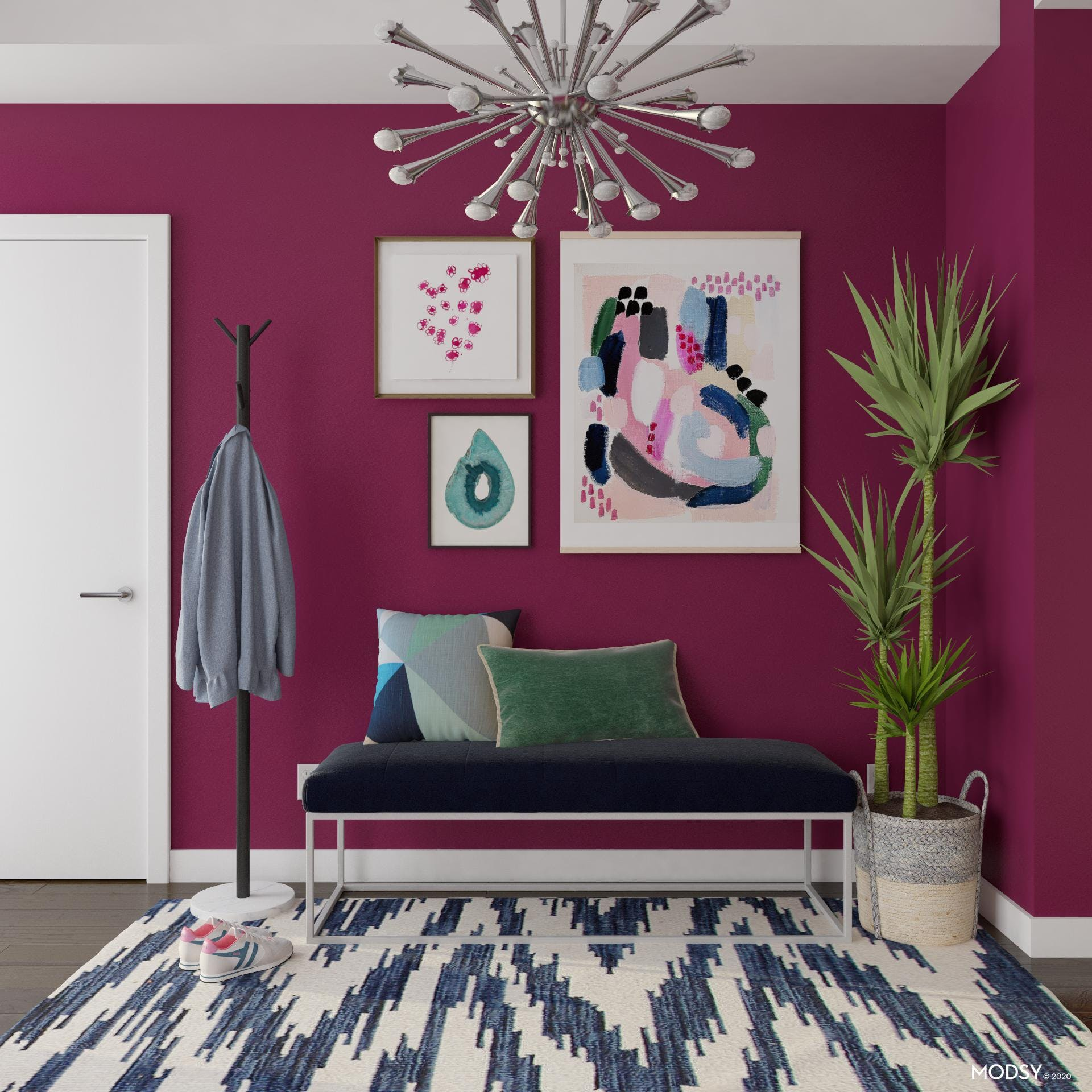 A Gallery Wall Color Scheme
