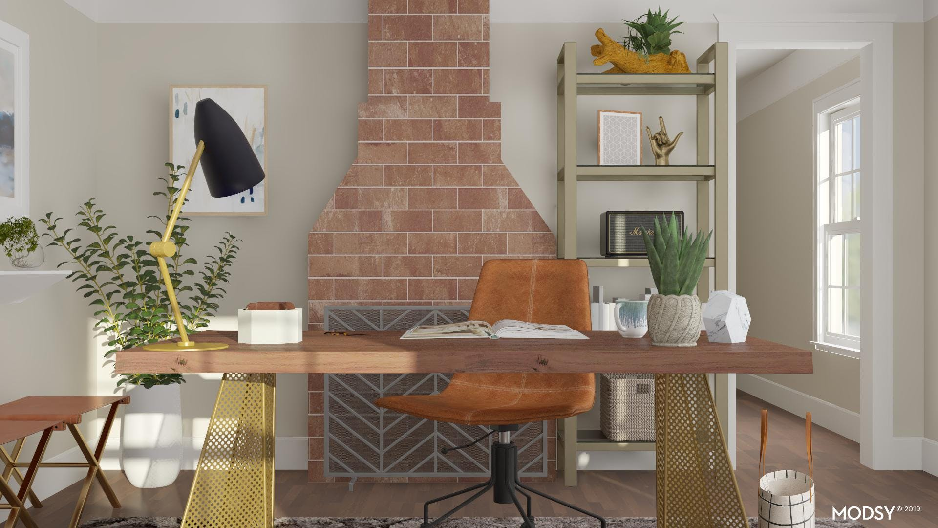 Office Storage: Clever And Cohesive