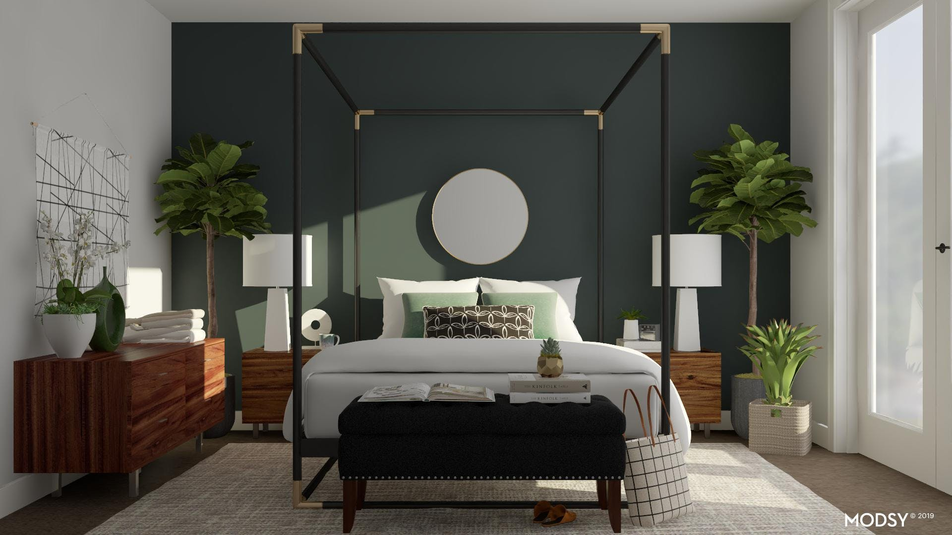 Adding Warmth To A Modern Bedroom