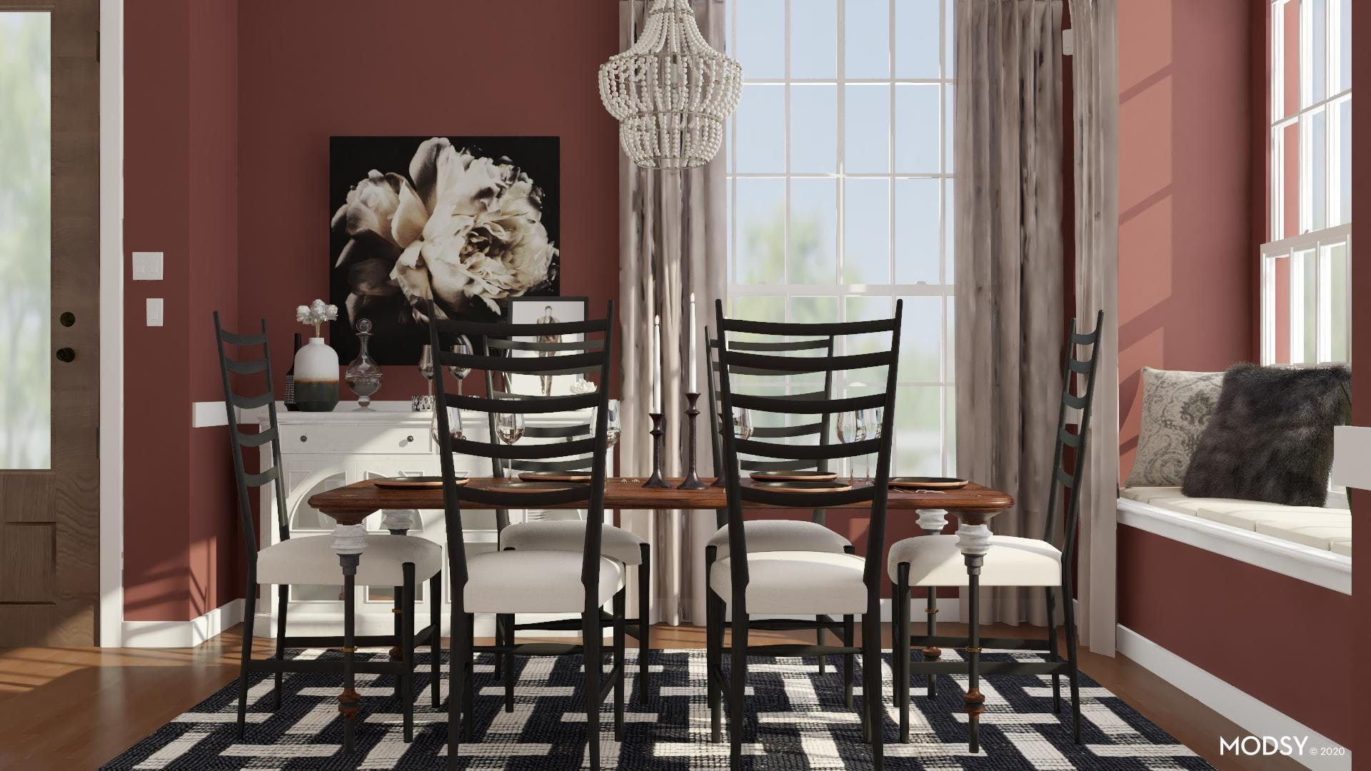 Glamorous Detailing: Traditional Dining Room