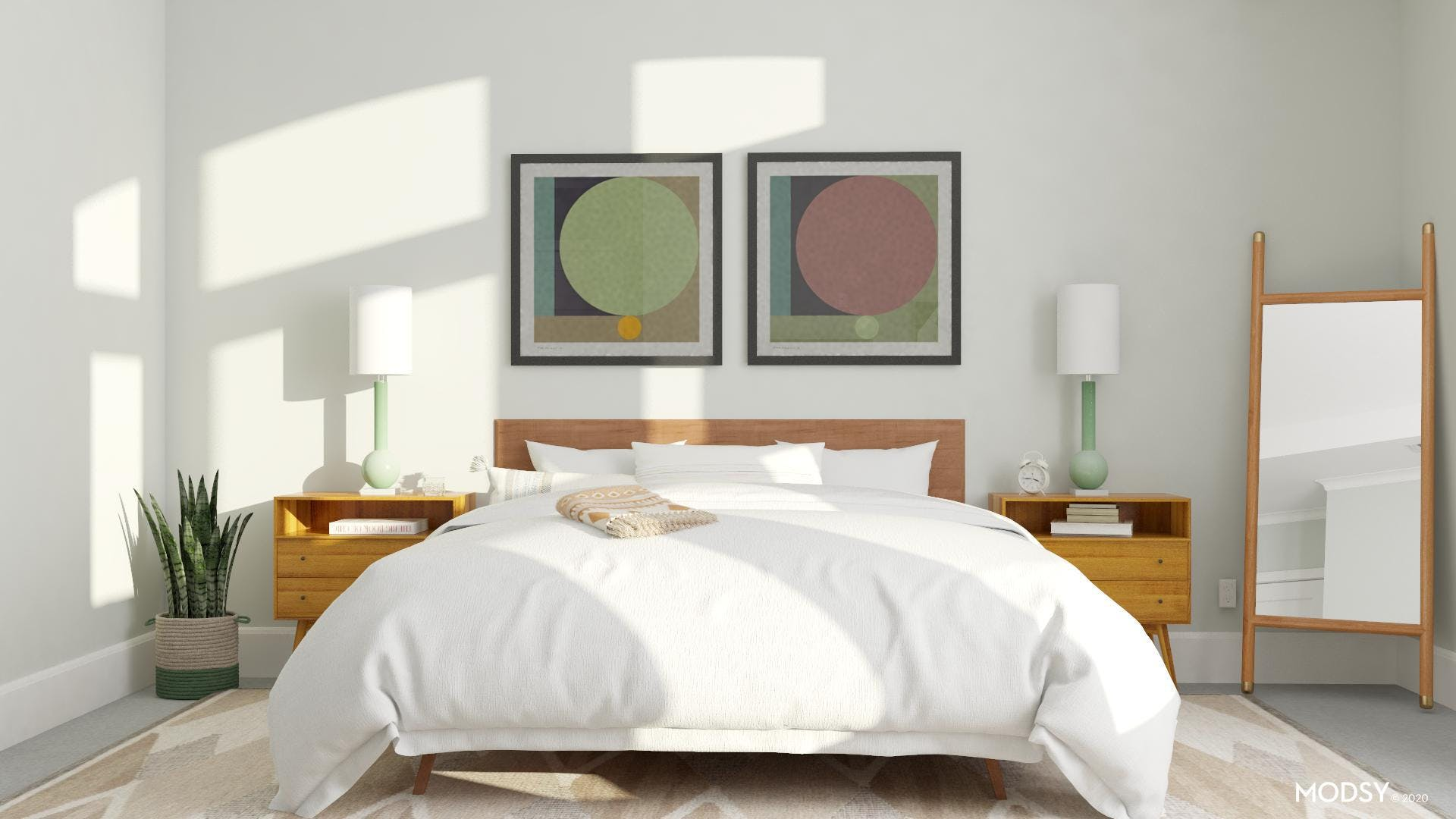 Mid Century Modern Bedroom: Calm And Collected