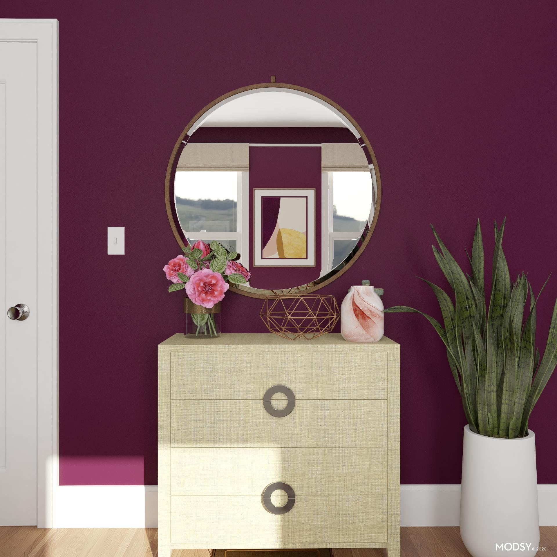 Bold Colors: Eclectic Vibe