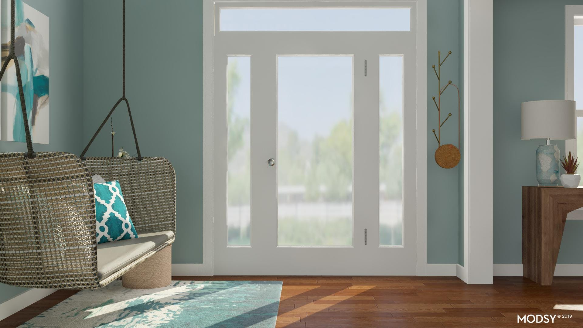 Light and Airy Entry