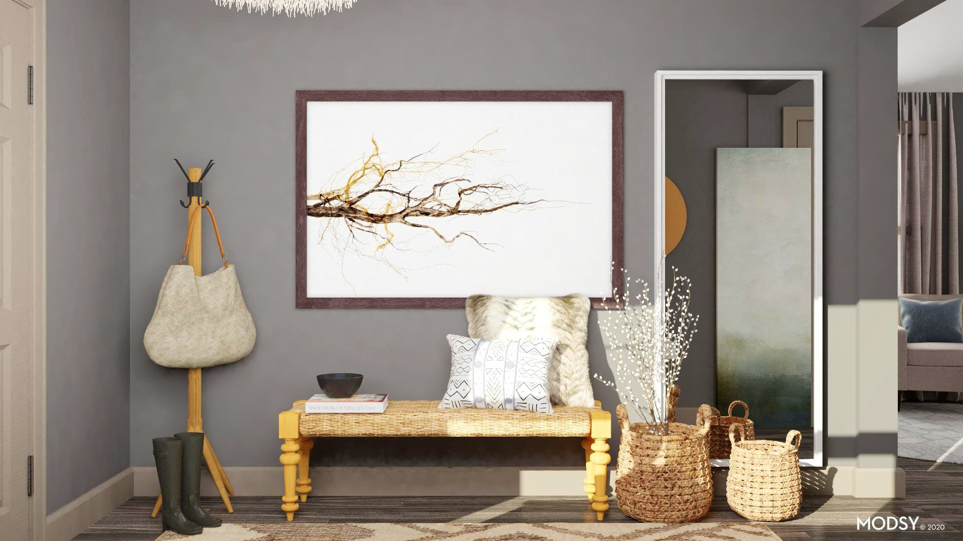 Eclectic Neutral Entry