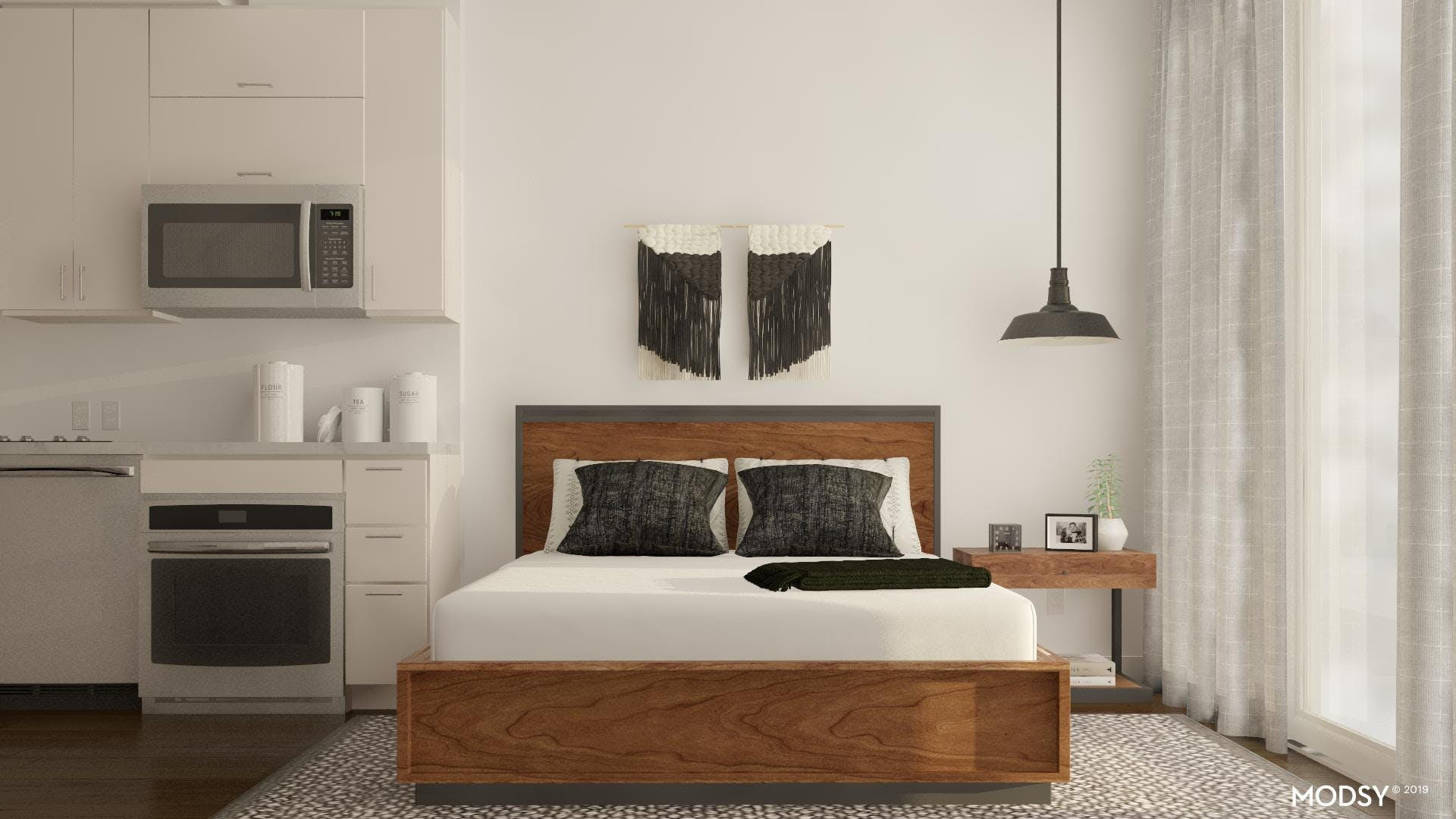 Maximizing Space With A Storage Bed
