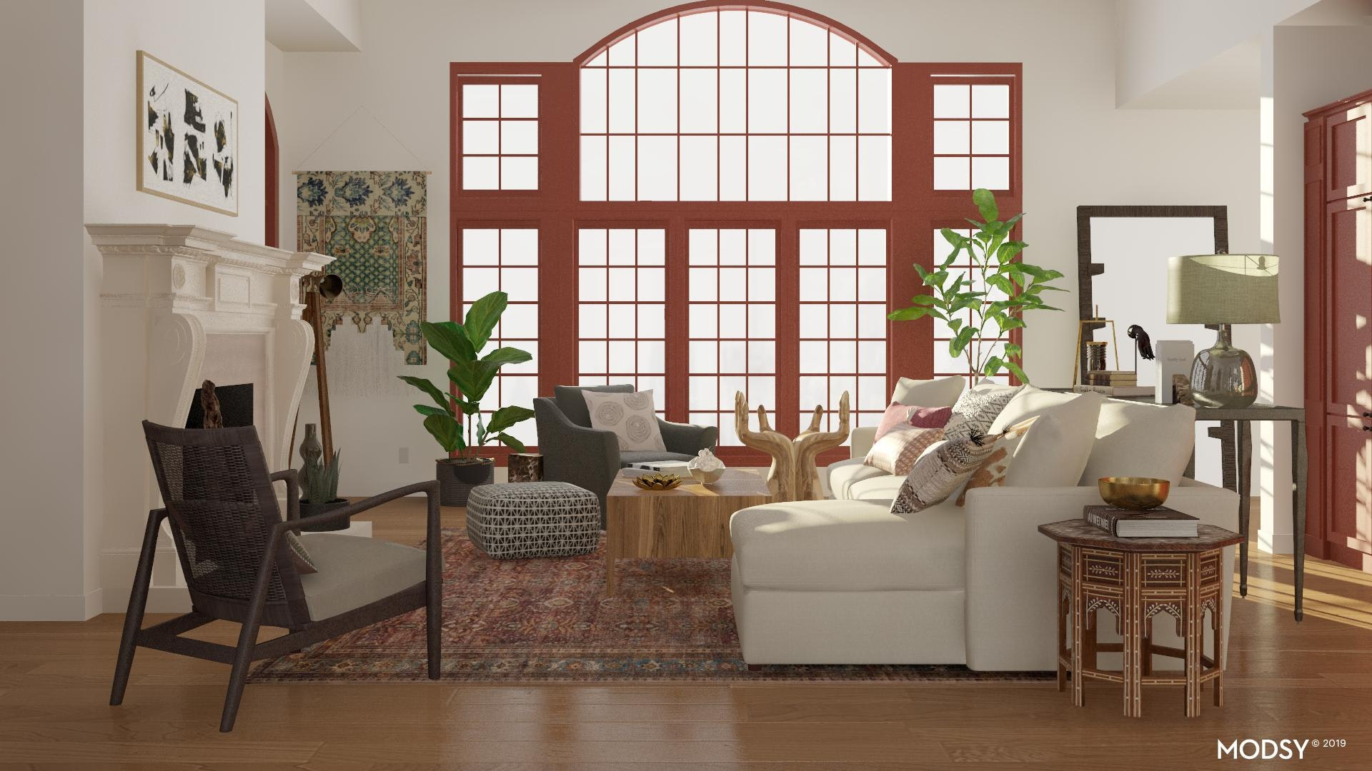 Boho Eclectic Living Room Eclectic Style Living Room Design Ideas